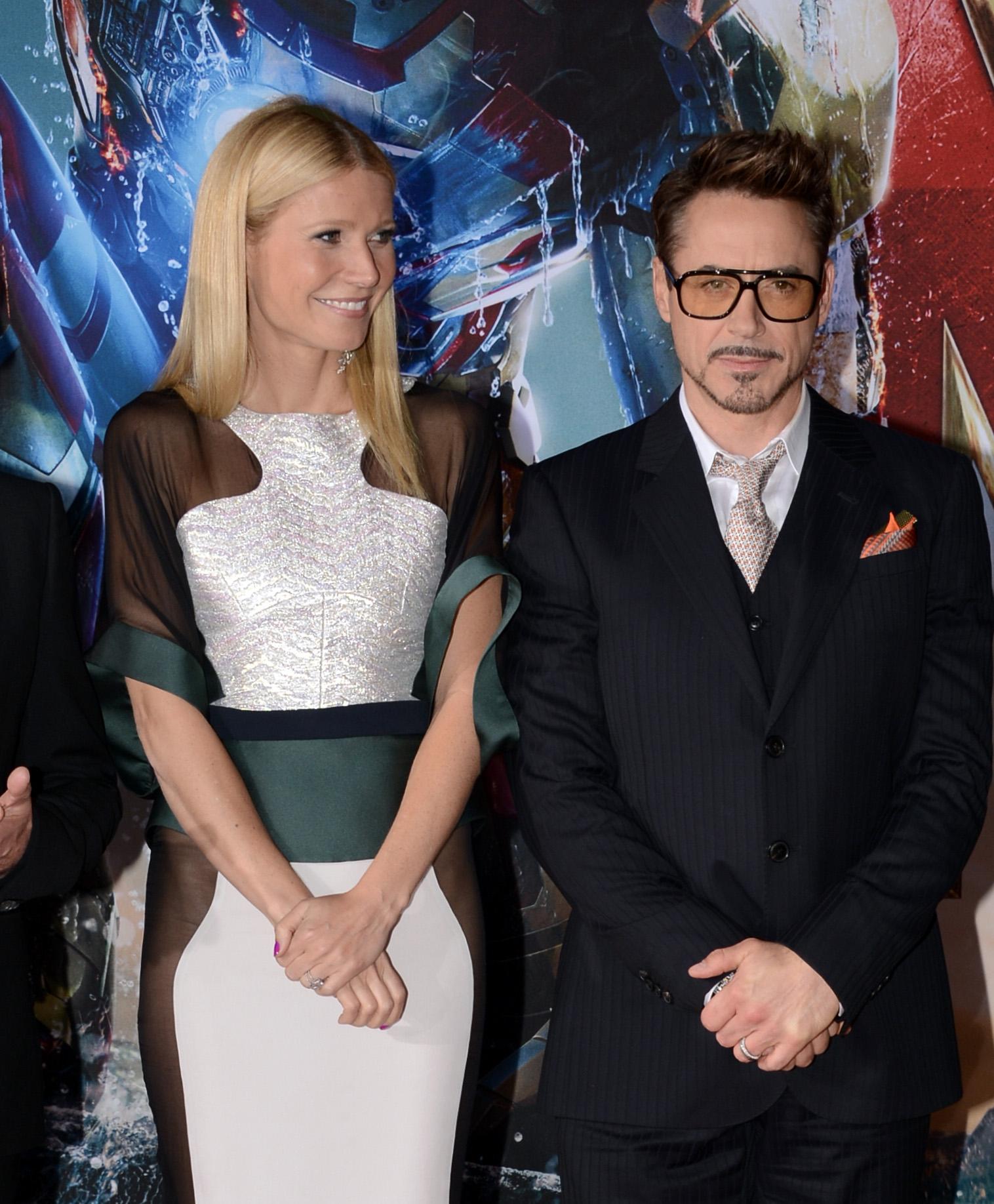 Gwyneth Paltrow & Robert Downey Jr.
