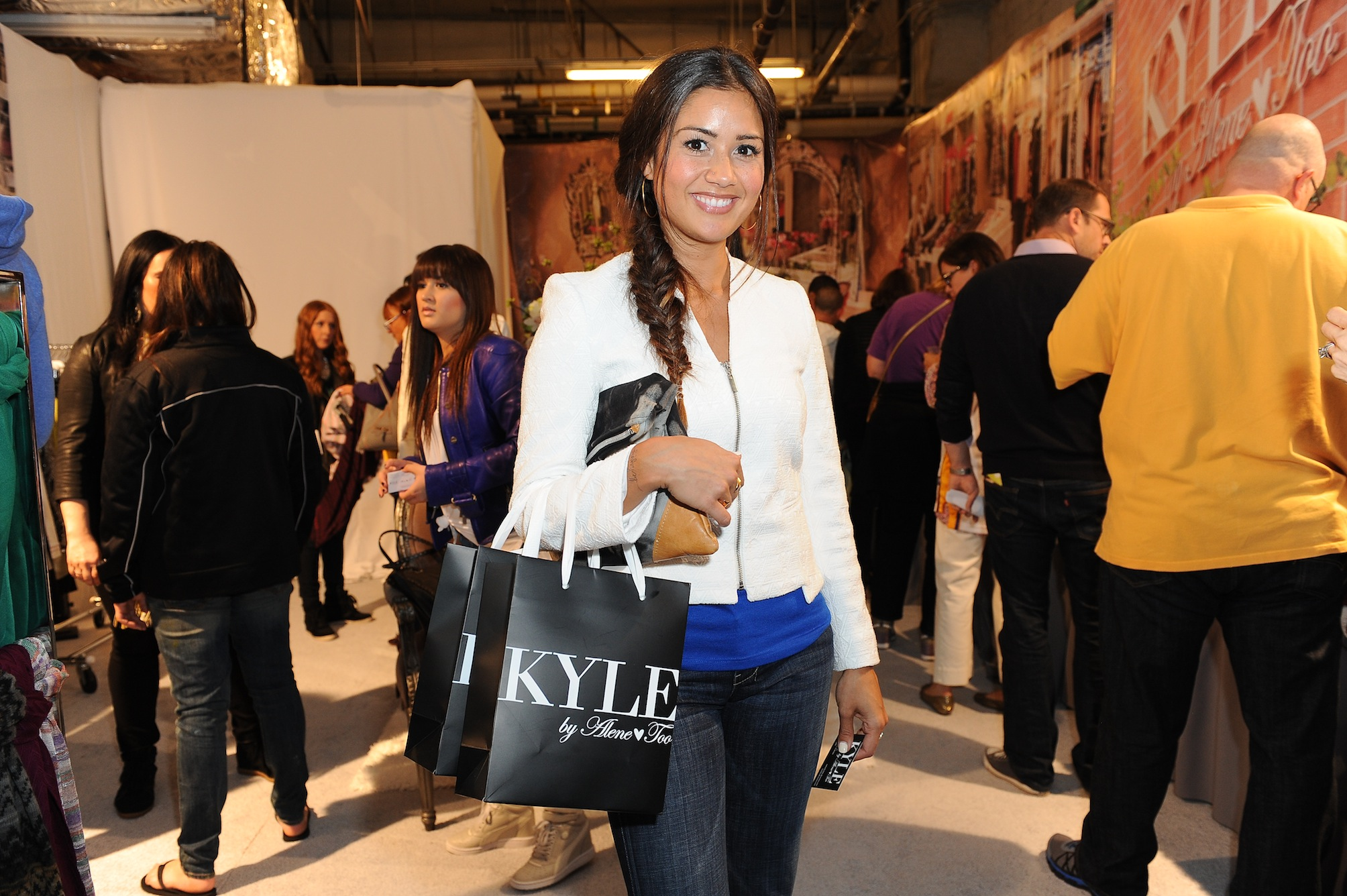 Catherine Giudici at Kyle by Alene Too Lakers Event