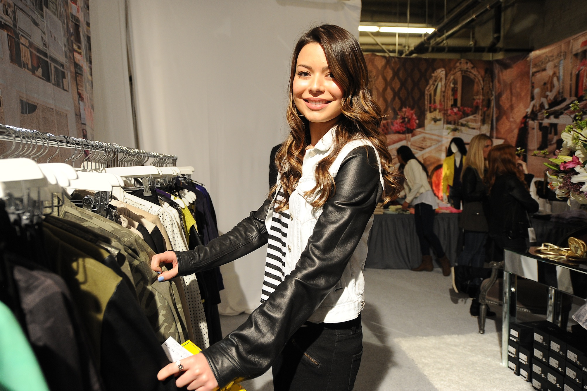 Miranda Cosgrove at Kyle by Alene Too Lakers Event