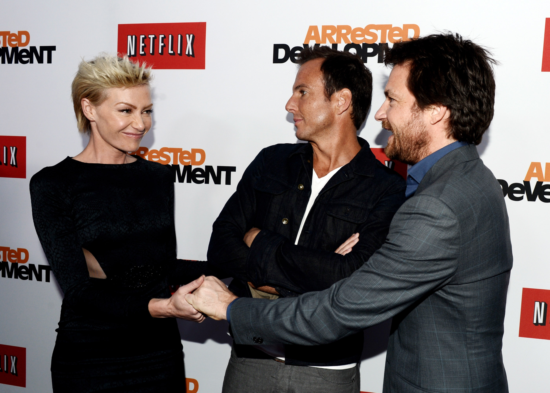 Portia de Rossi, Will Arnett & Jason Bateman