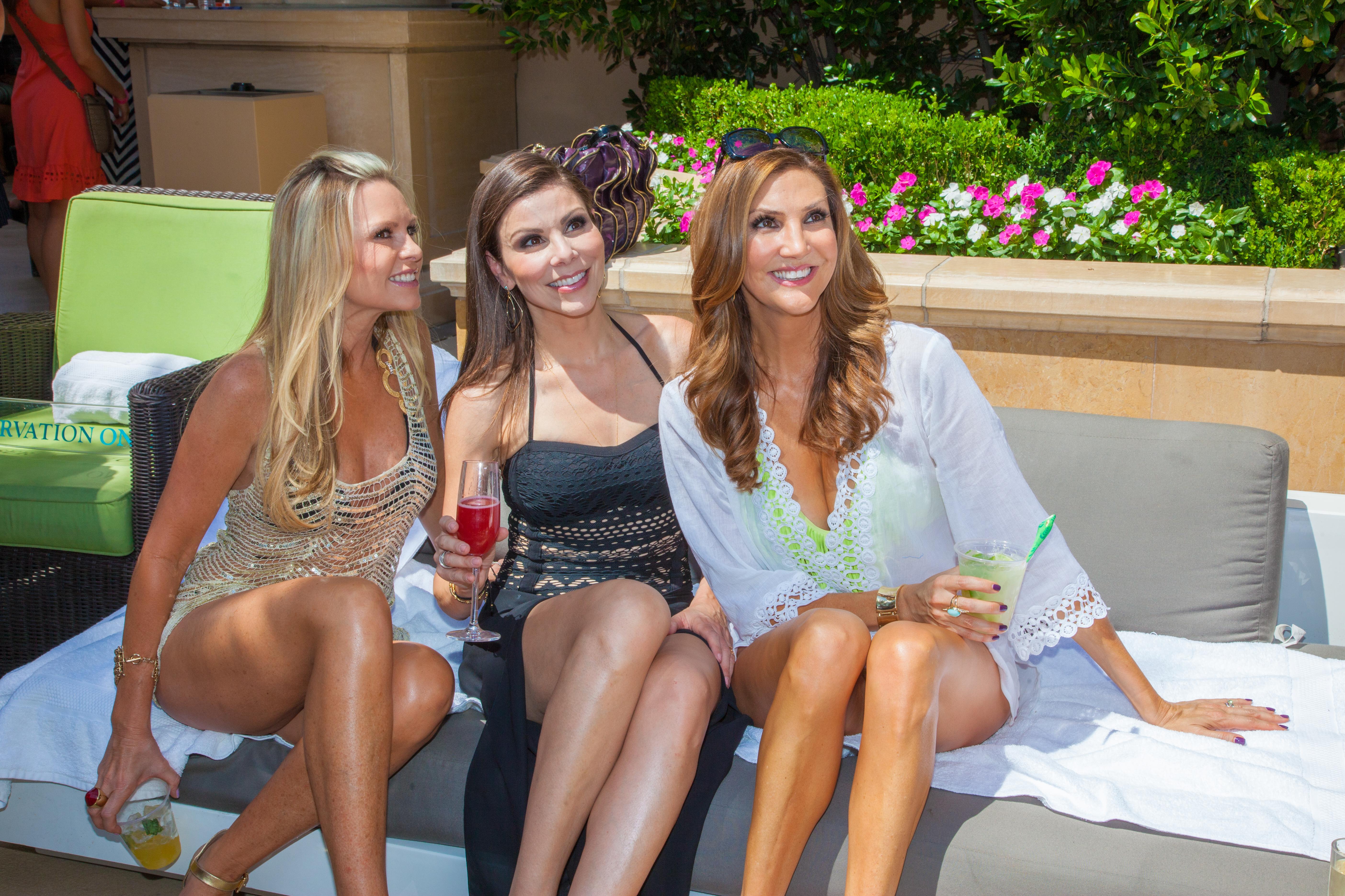 Tamra Barney, Heather Dubrow & Heather McDonald
