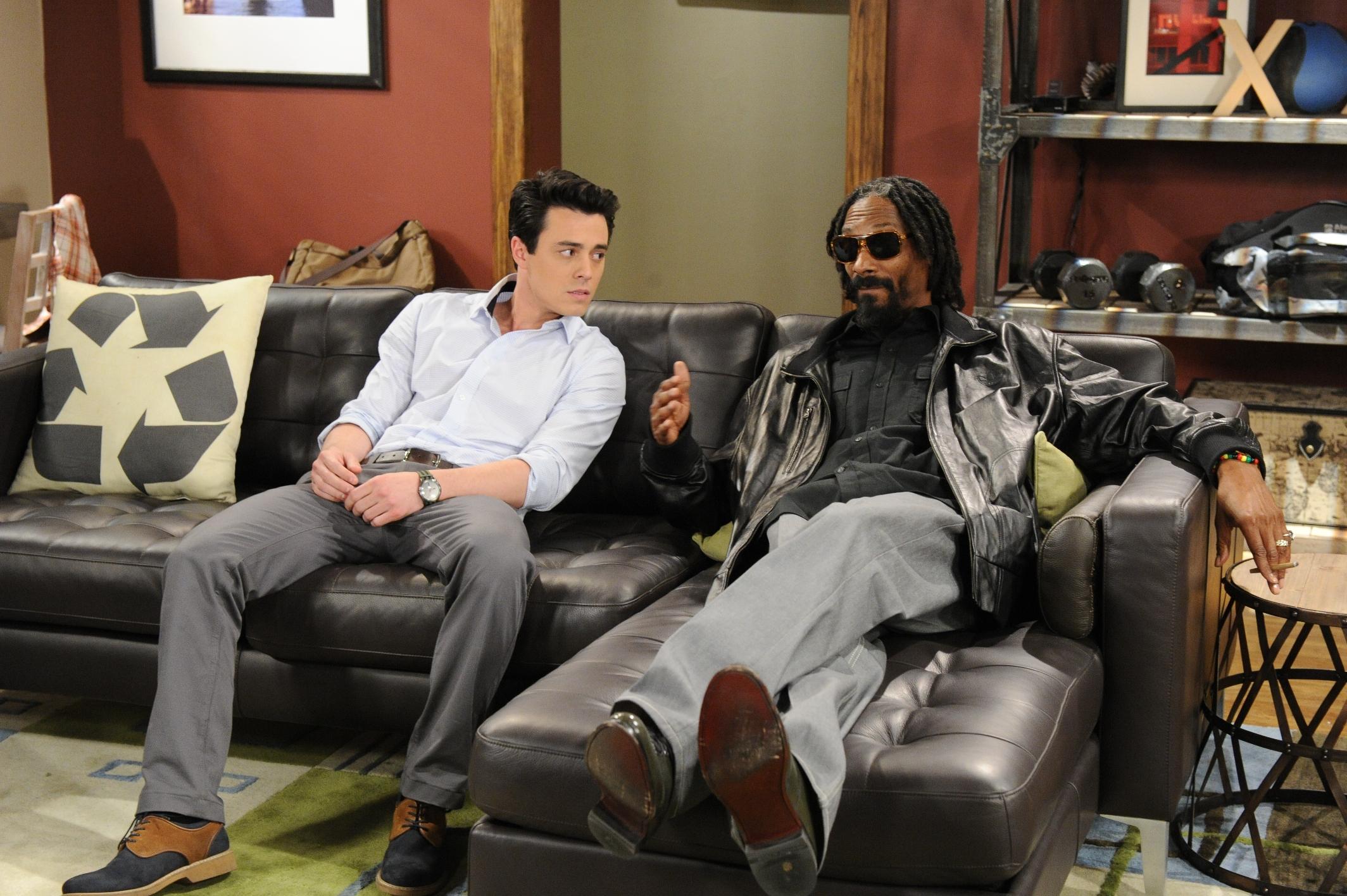 Snoop Lion & Robert Gorrie