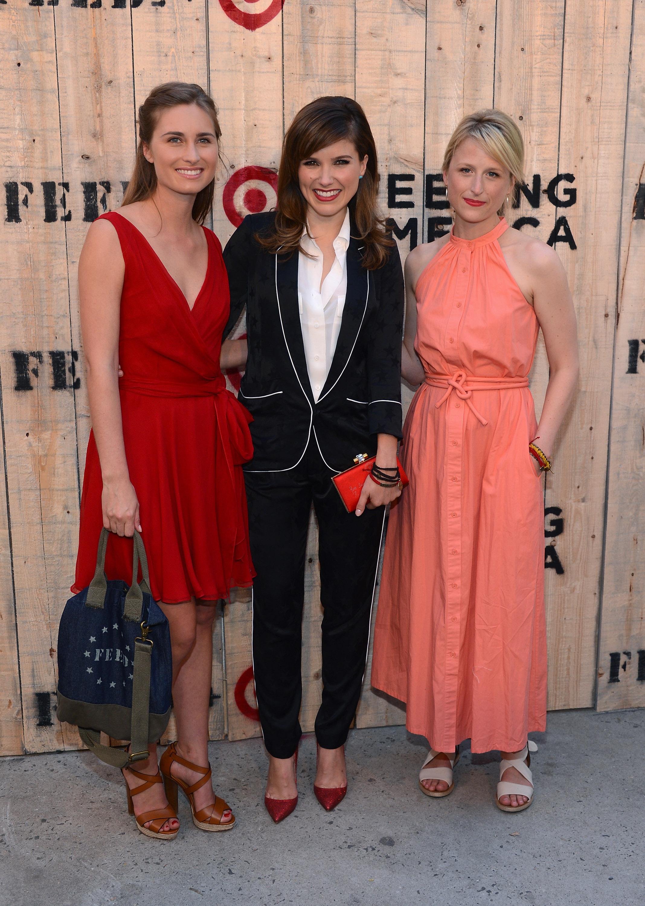 Lauren Bush Lauren, Sophia Bush & Mamie Gummer