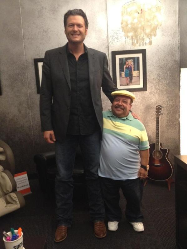 Blake Shelton & Chuy