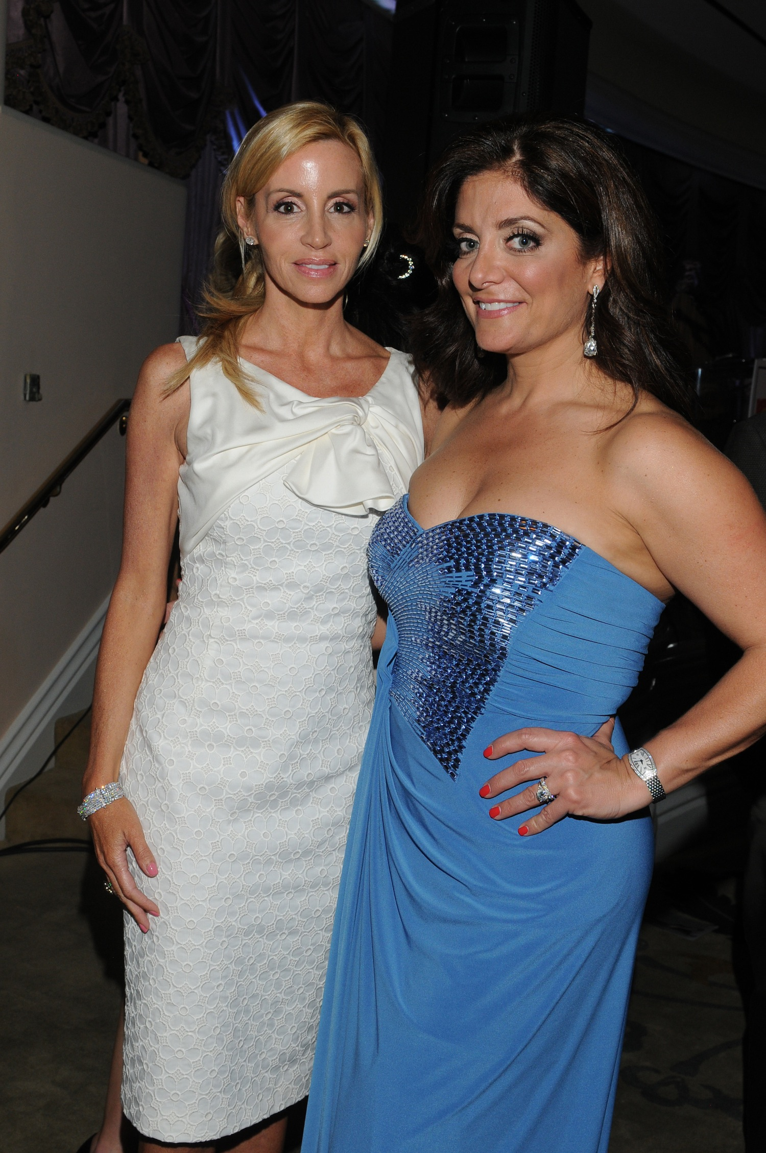 Camille Grammer and Kathy Wakile