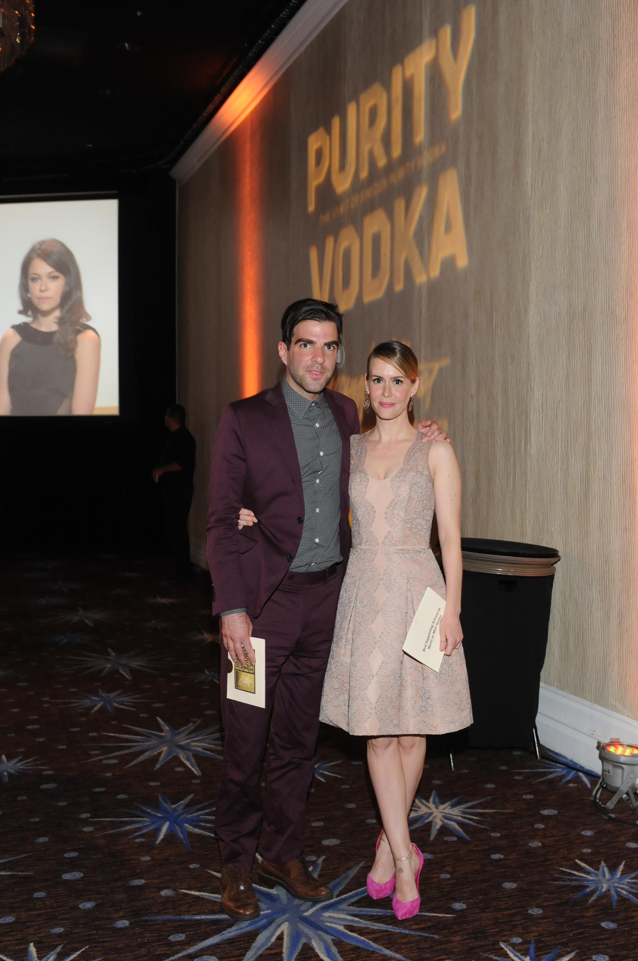 Zachary Quinto & Sarah Paulson