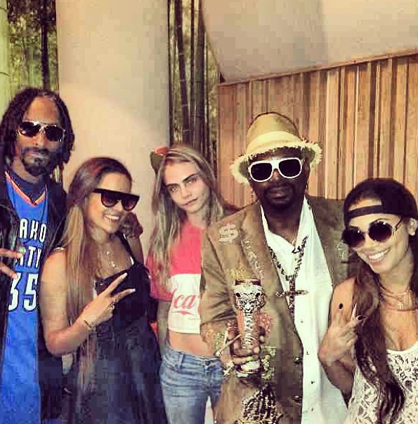 Snoop Dogg, Cara Delevingne & Friends