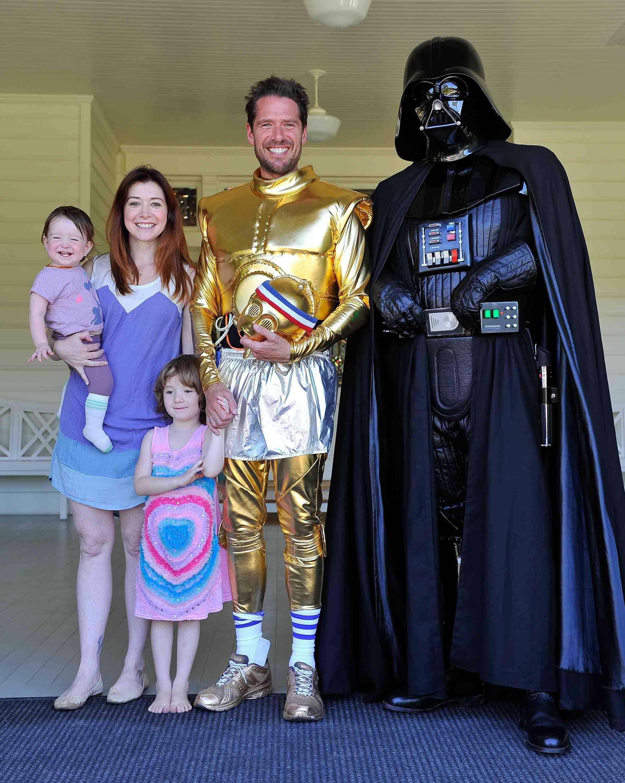 Alyson Hannigan & Family
