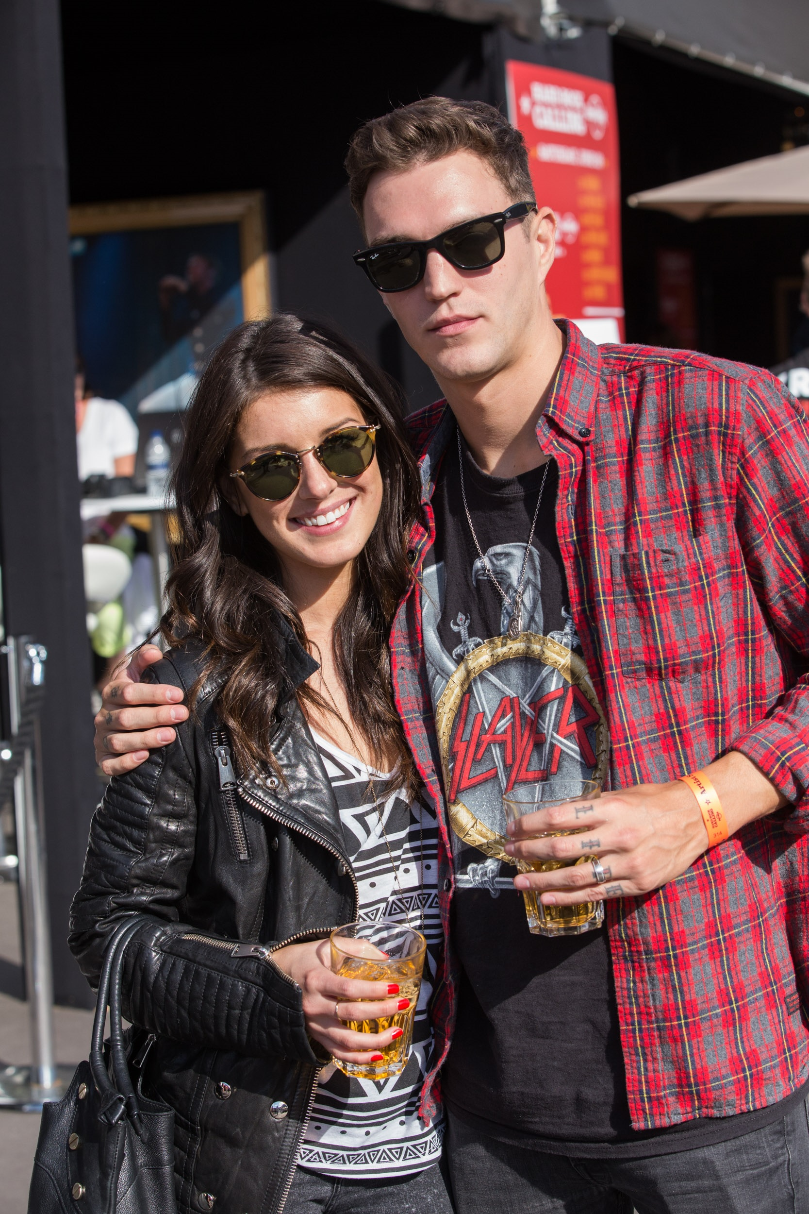 Shenae Grimes & Josh Beech