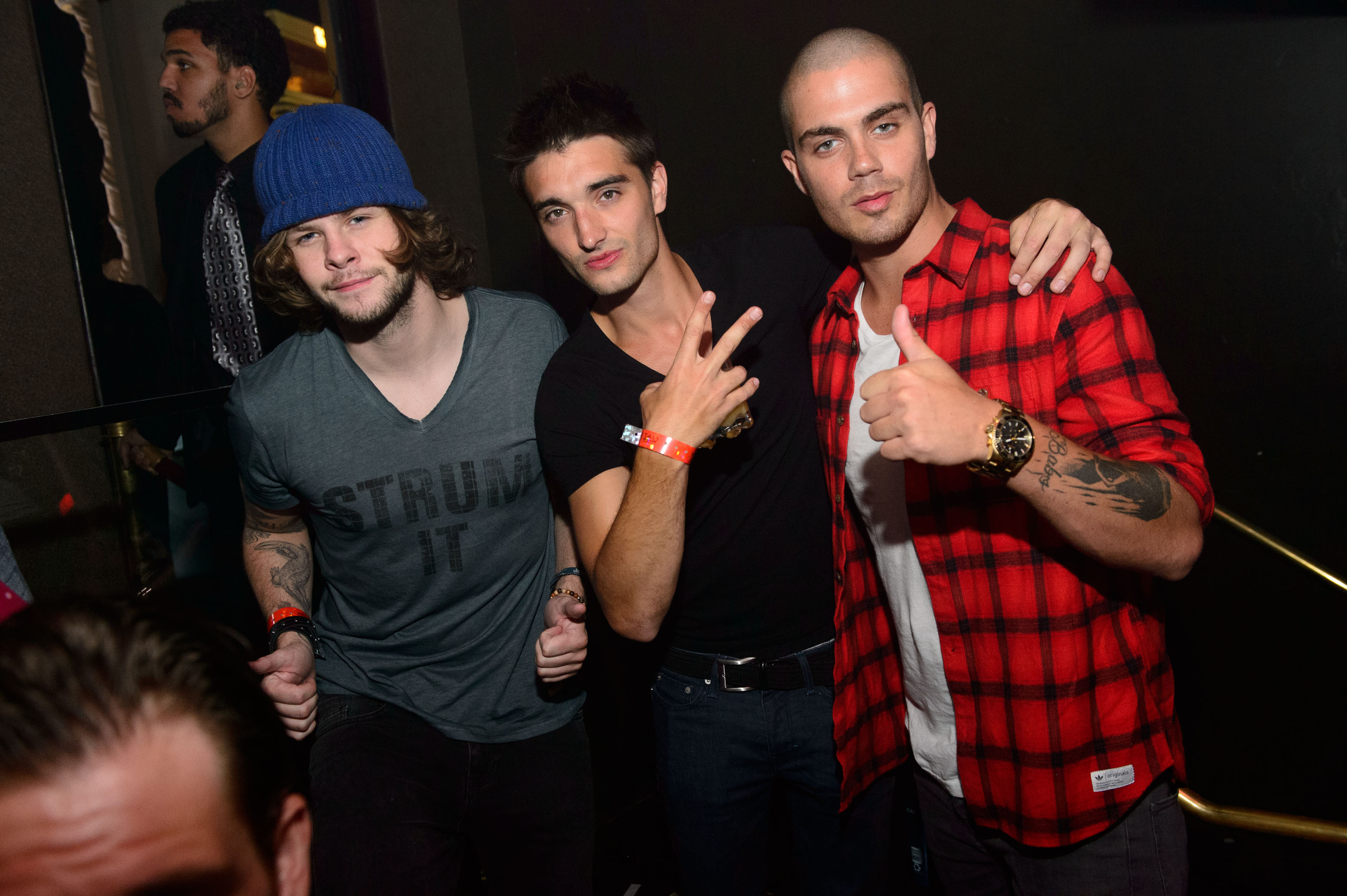 Jay McGuinness, Tom Parker & Max George