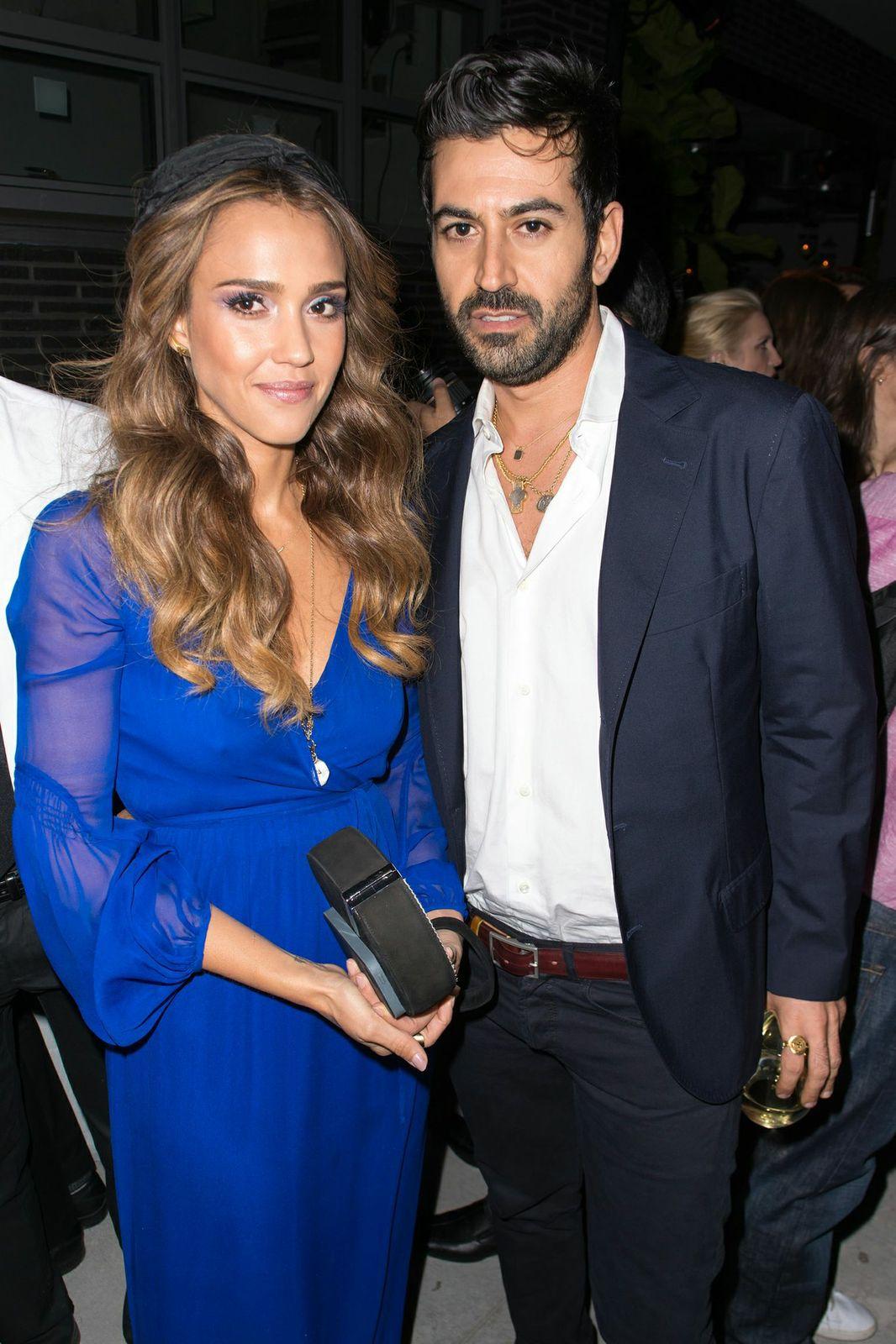 Jessica Alba & Eli Halili