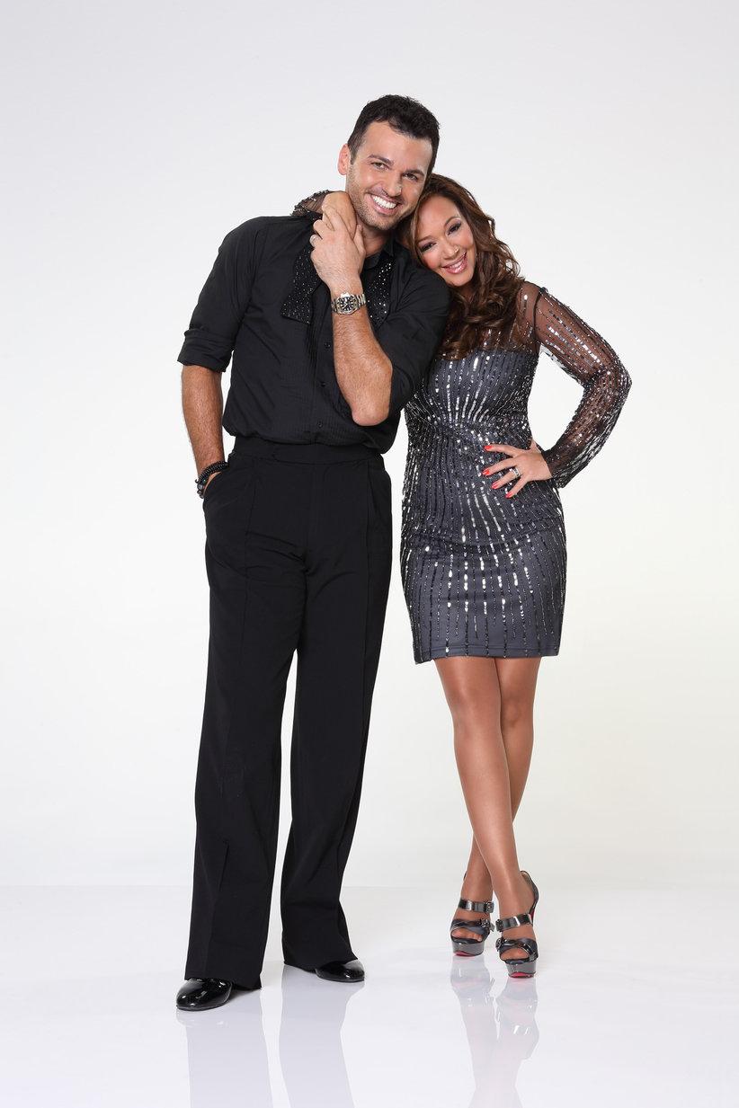 Leah Remini & Tony Dovolani
