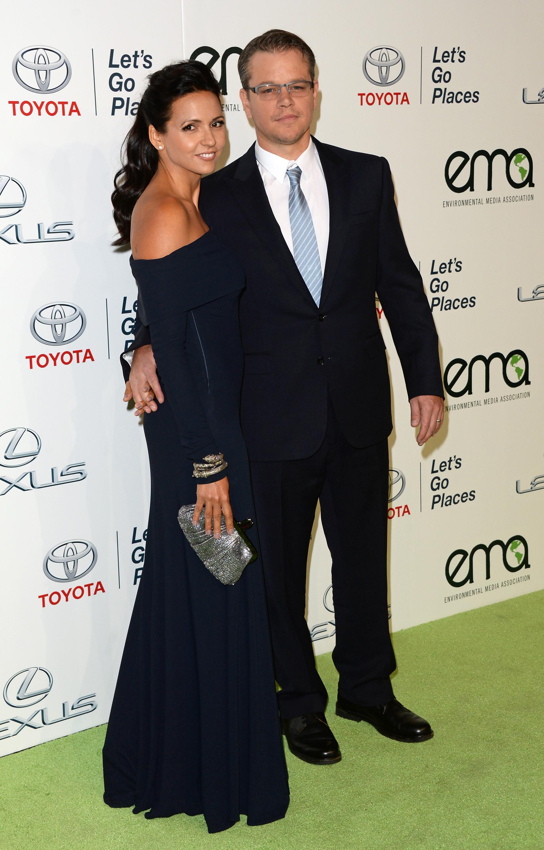 Matt Damon & Luciana Damo