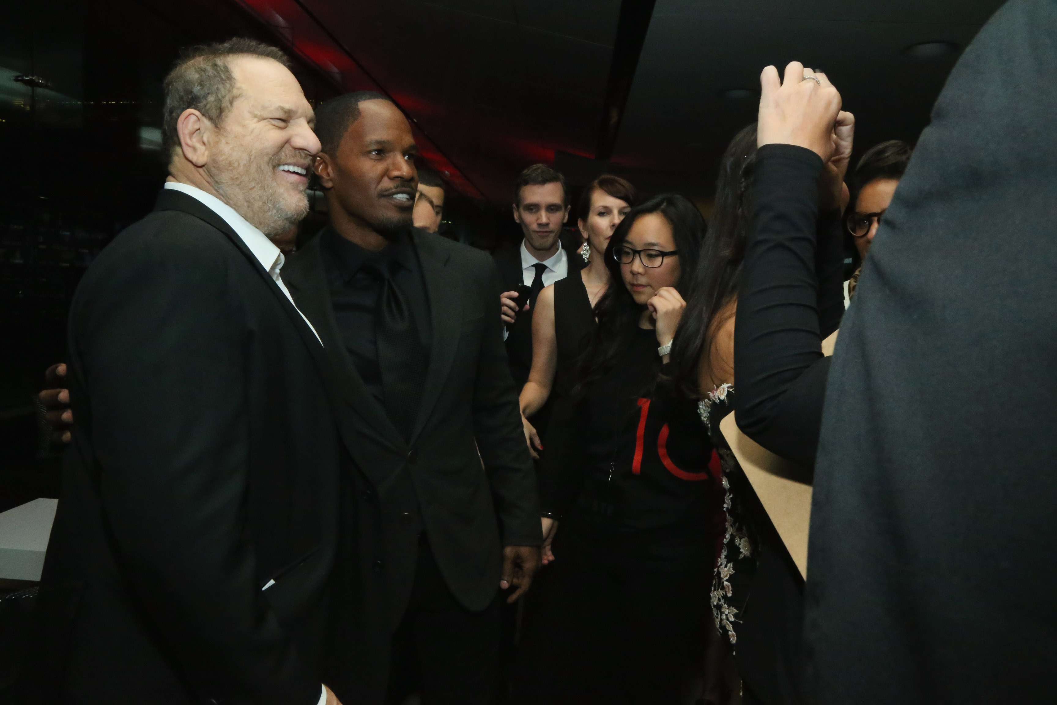 Jamie Foxx & Harvey Weinstein