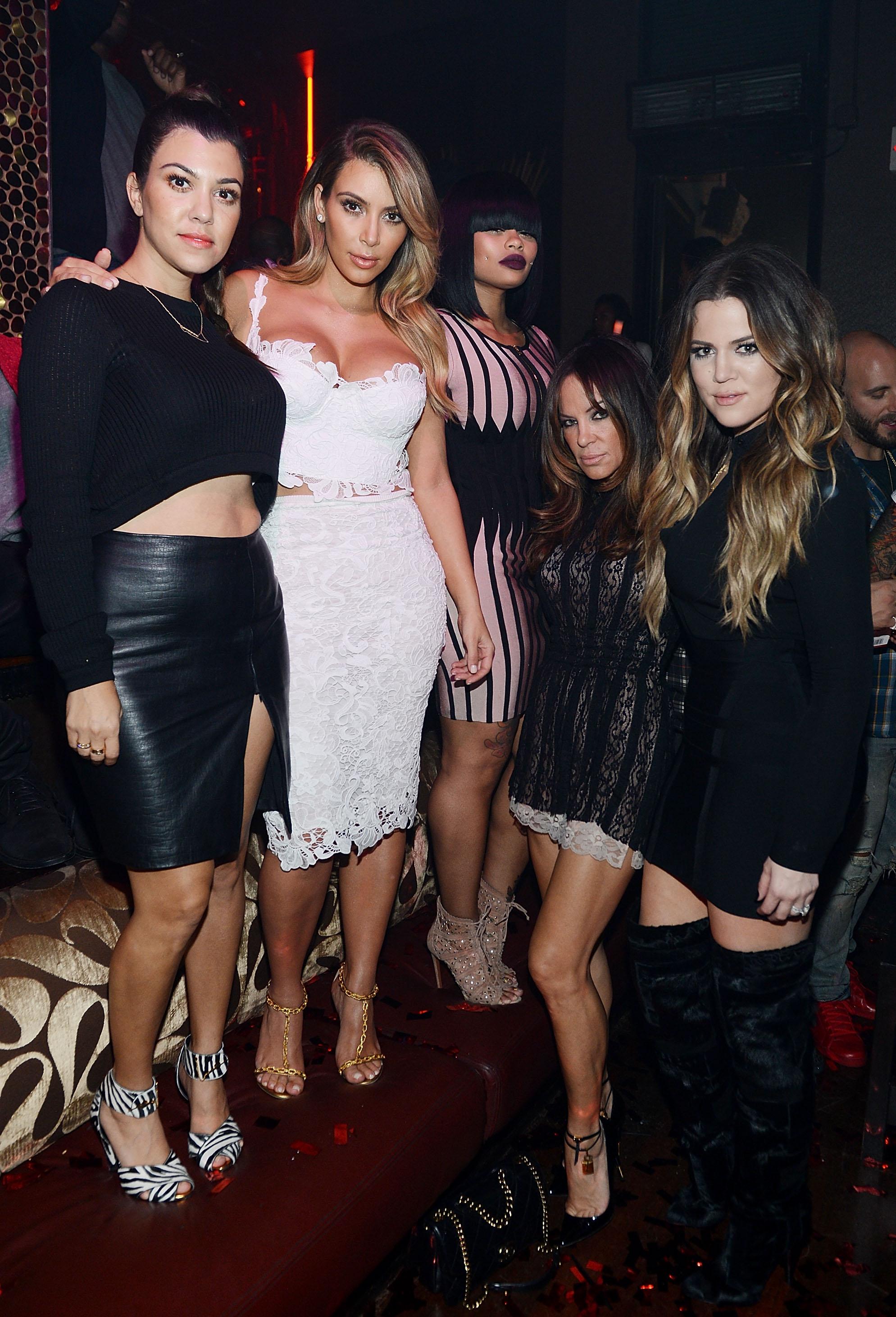 Kourtney Kardashian, Kim Kardashian, Black Chyna, Khloe Kardashian