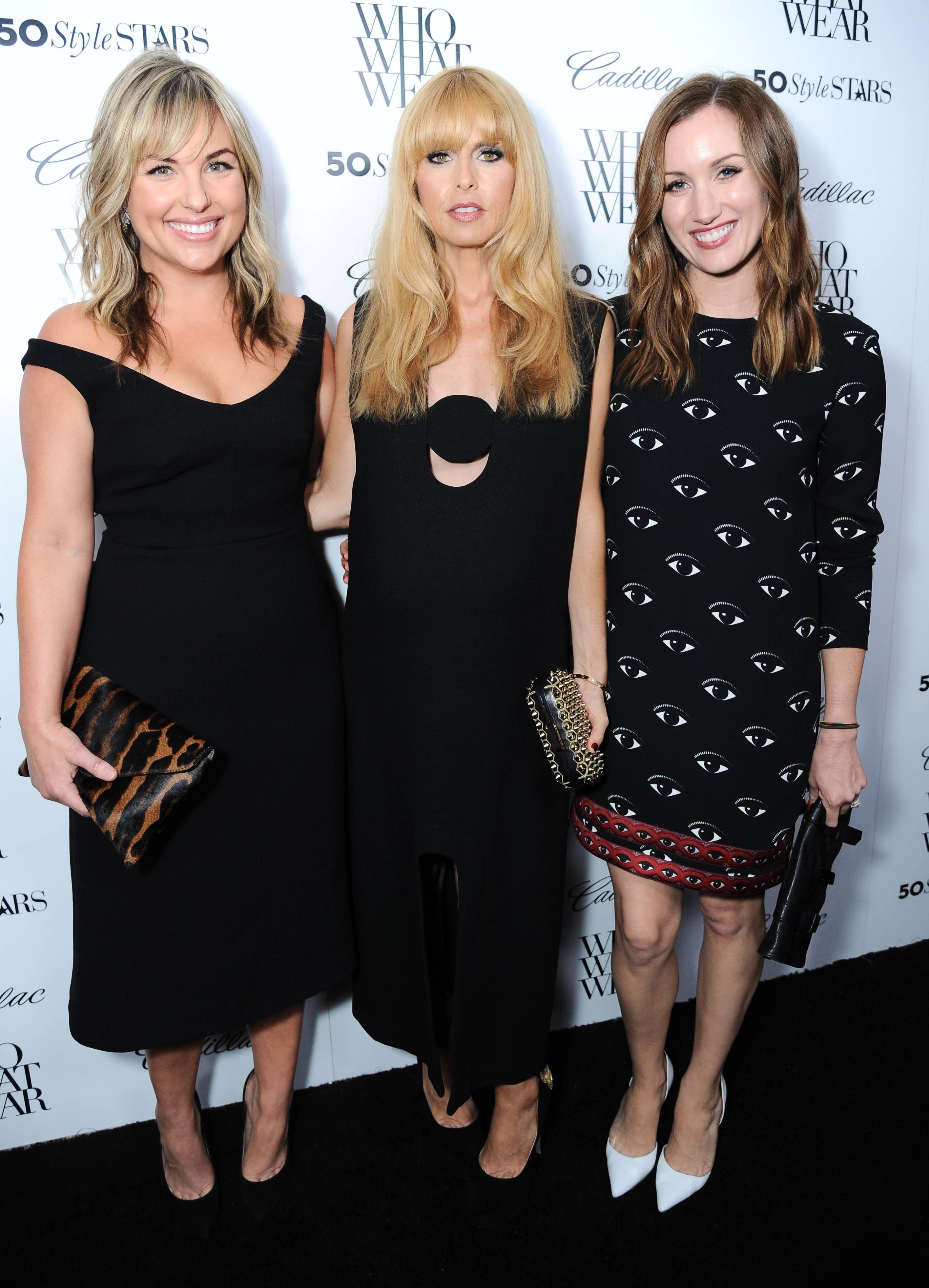 Hillary Kerr, Rachel Zoe & Katherine Power
