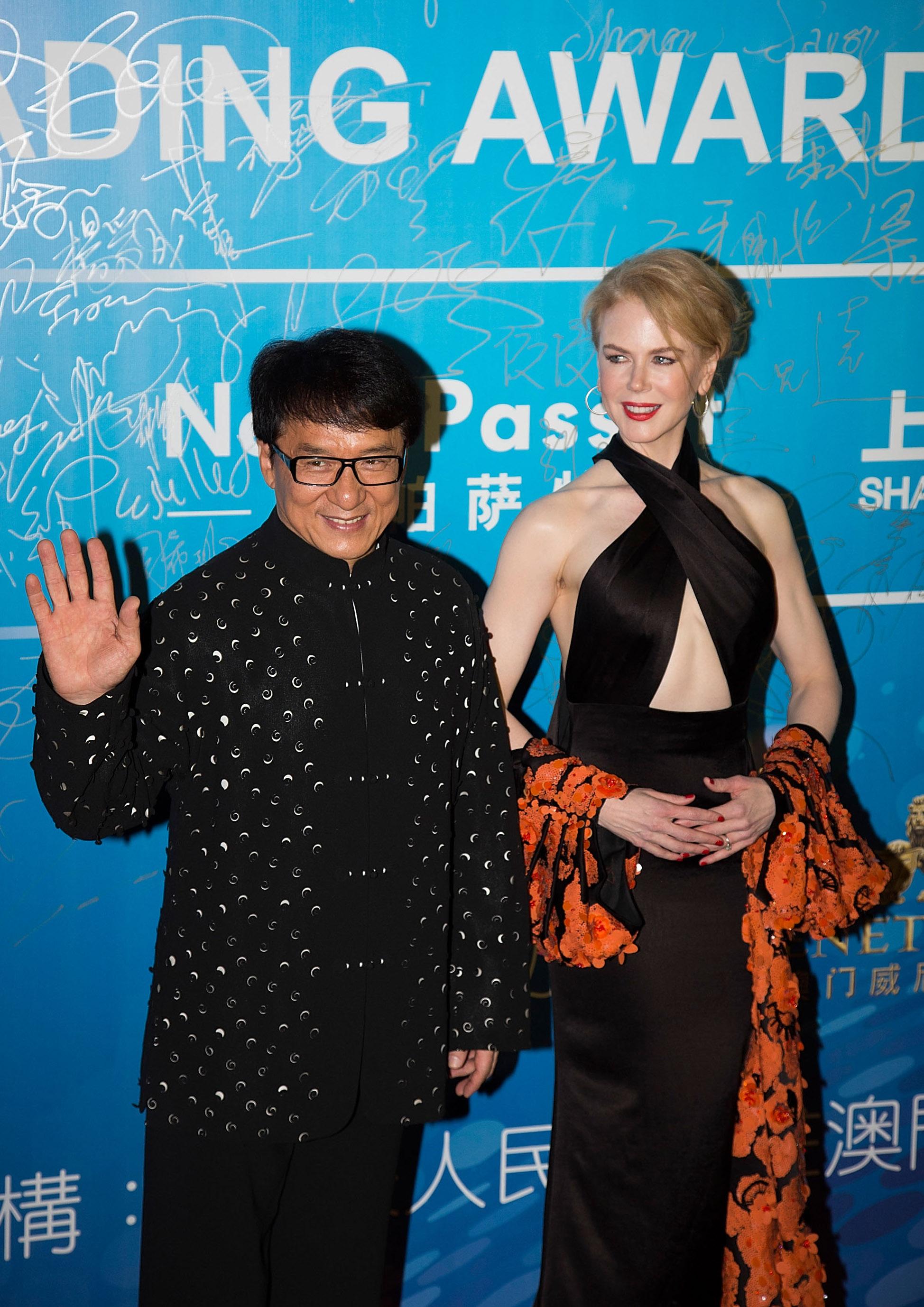 Jackie Chan & Nicole Kidman