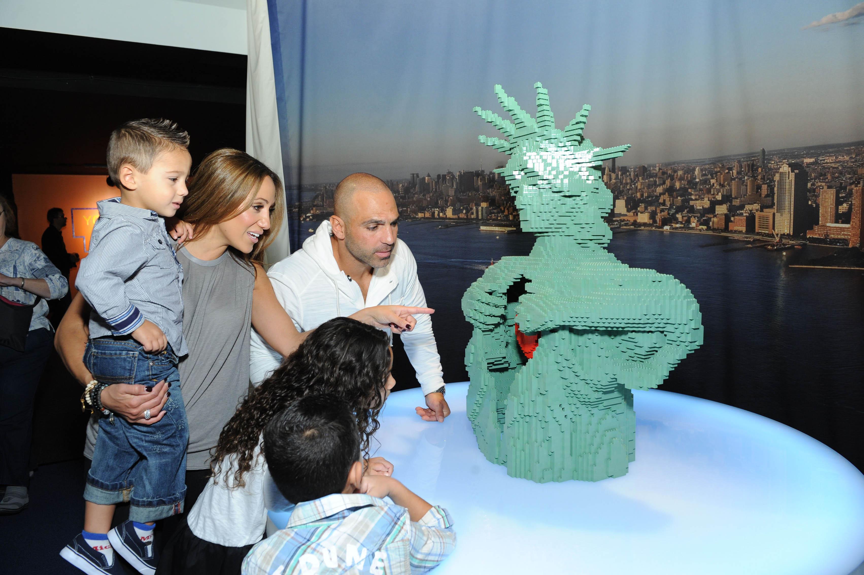 Melissa Gorga & family