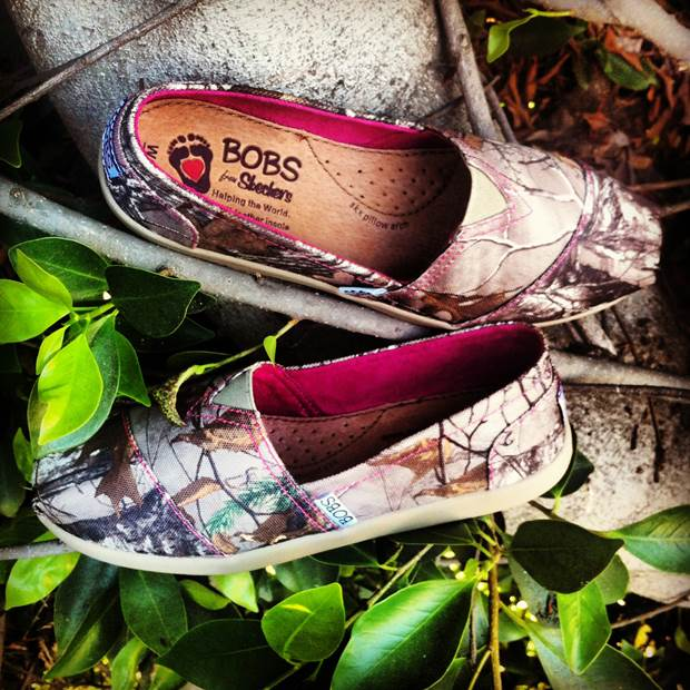 BOBS from SKECHERS + Realtree® Hide and Seek Slip-Ons