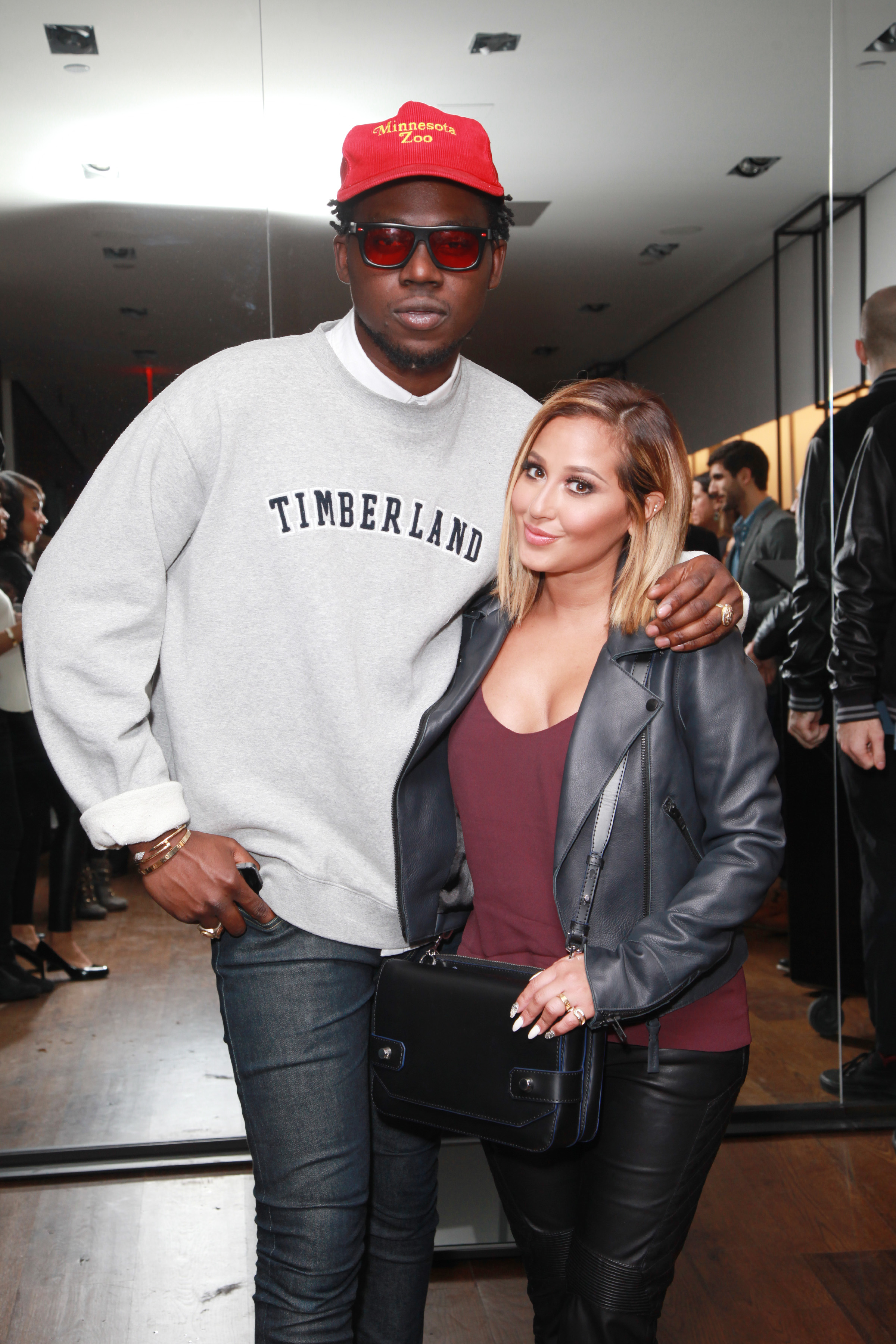 Adrienne Bailon & Theophilus London