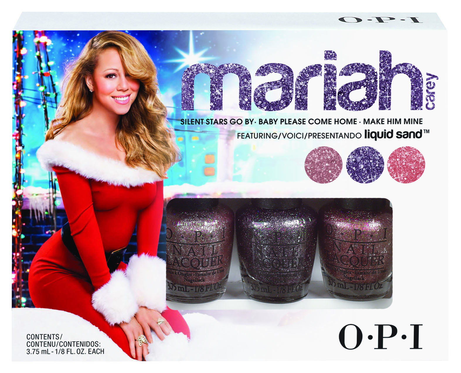 Mariah Carey Liquid Sand by OPI Holiday Gift Set