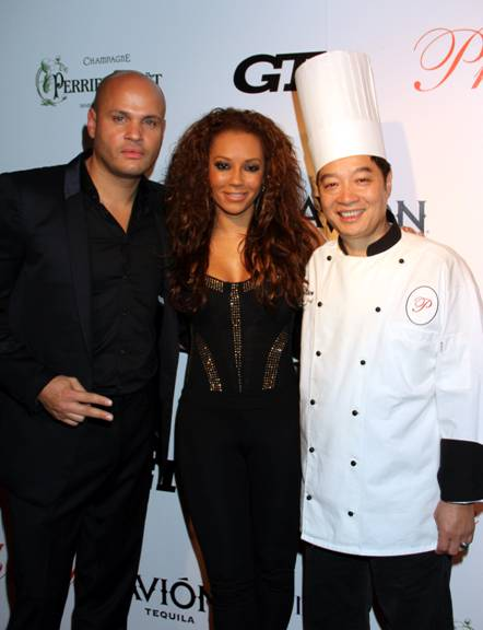 Stephen Belafonte, Mel B. & Chef Philippe Chow