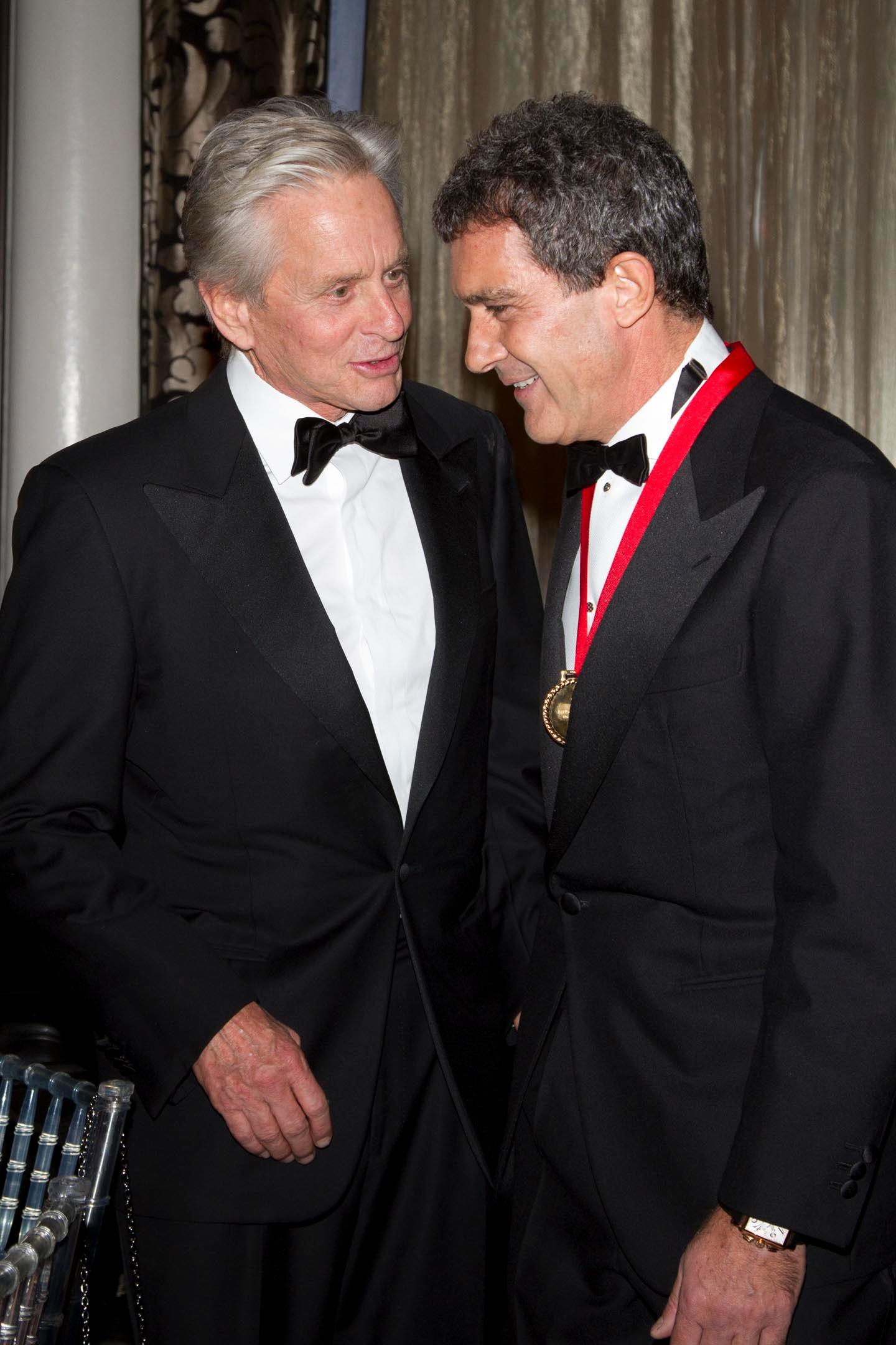Michael Douglas & Antonio Banderas