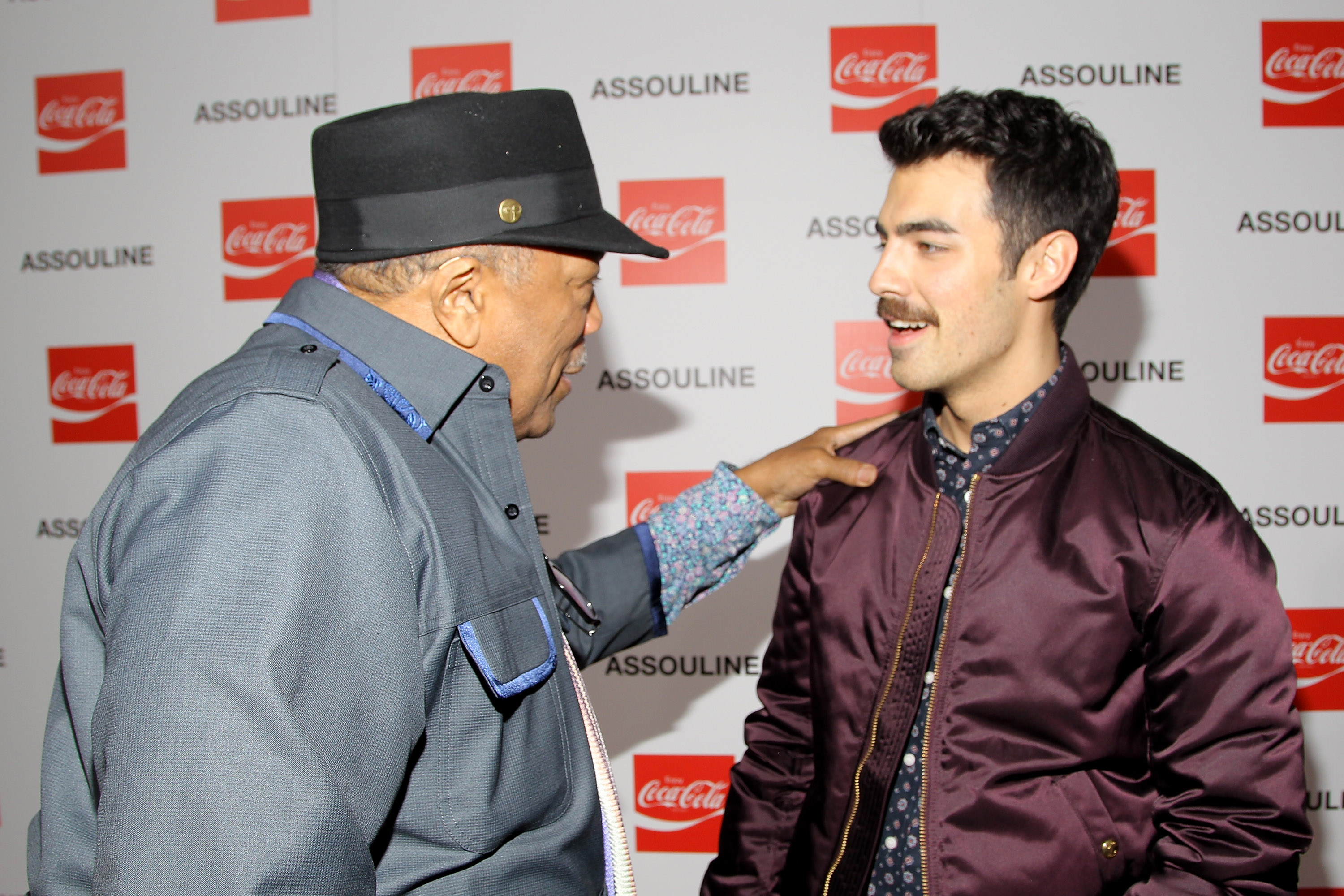 Quincy Jones and Joe Jonas