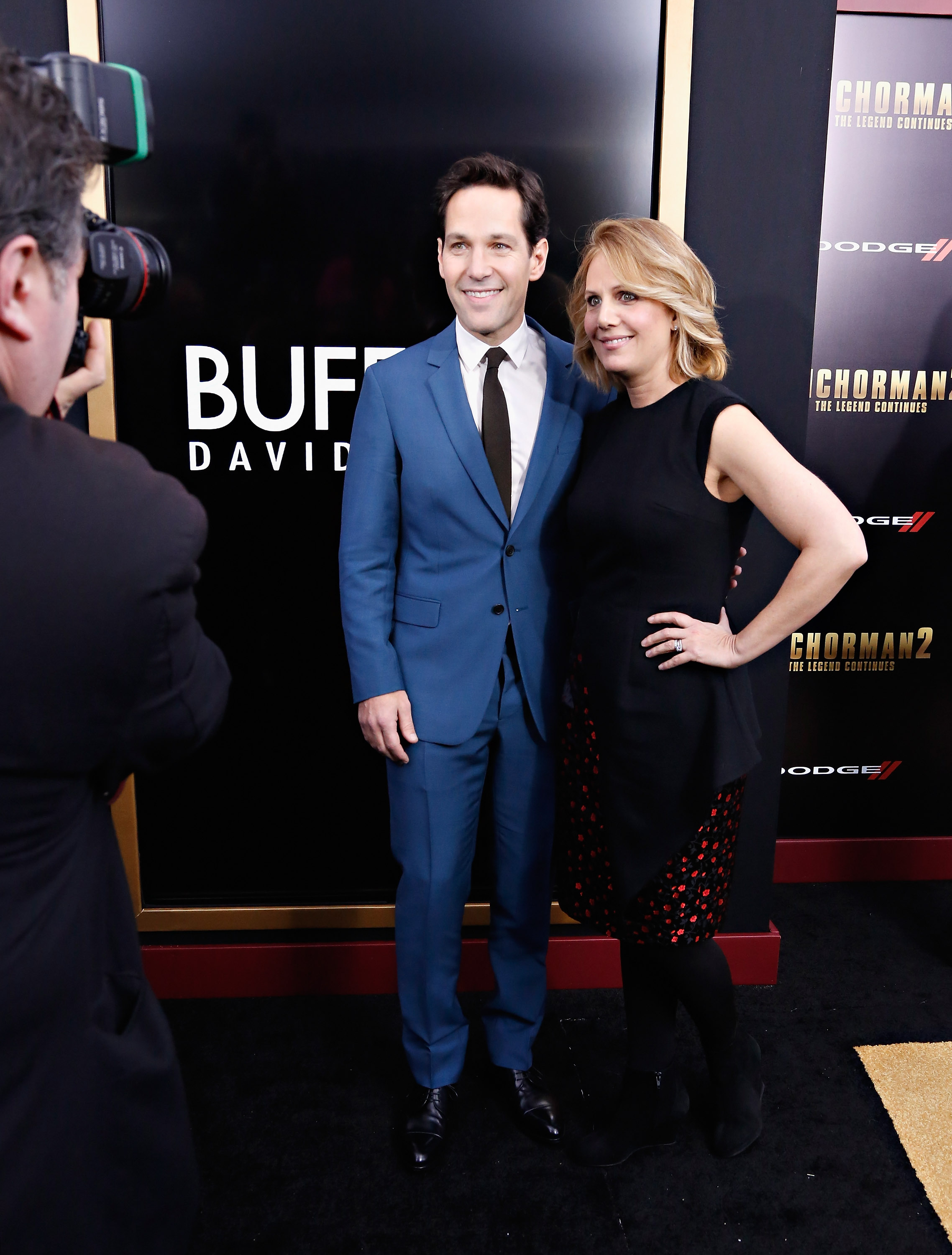 Paul Rudd & Julie Yaeger