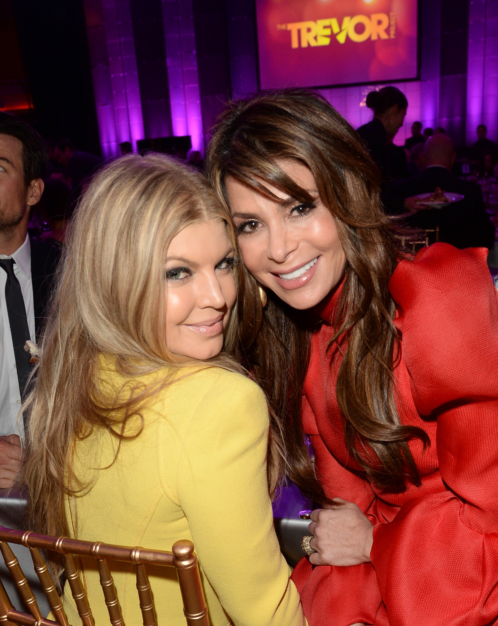 Fergie & Paula Abdul