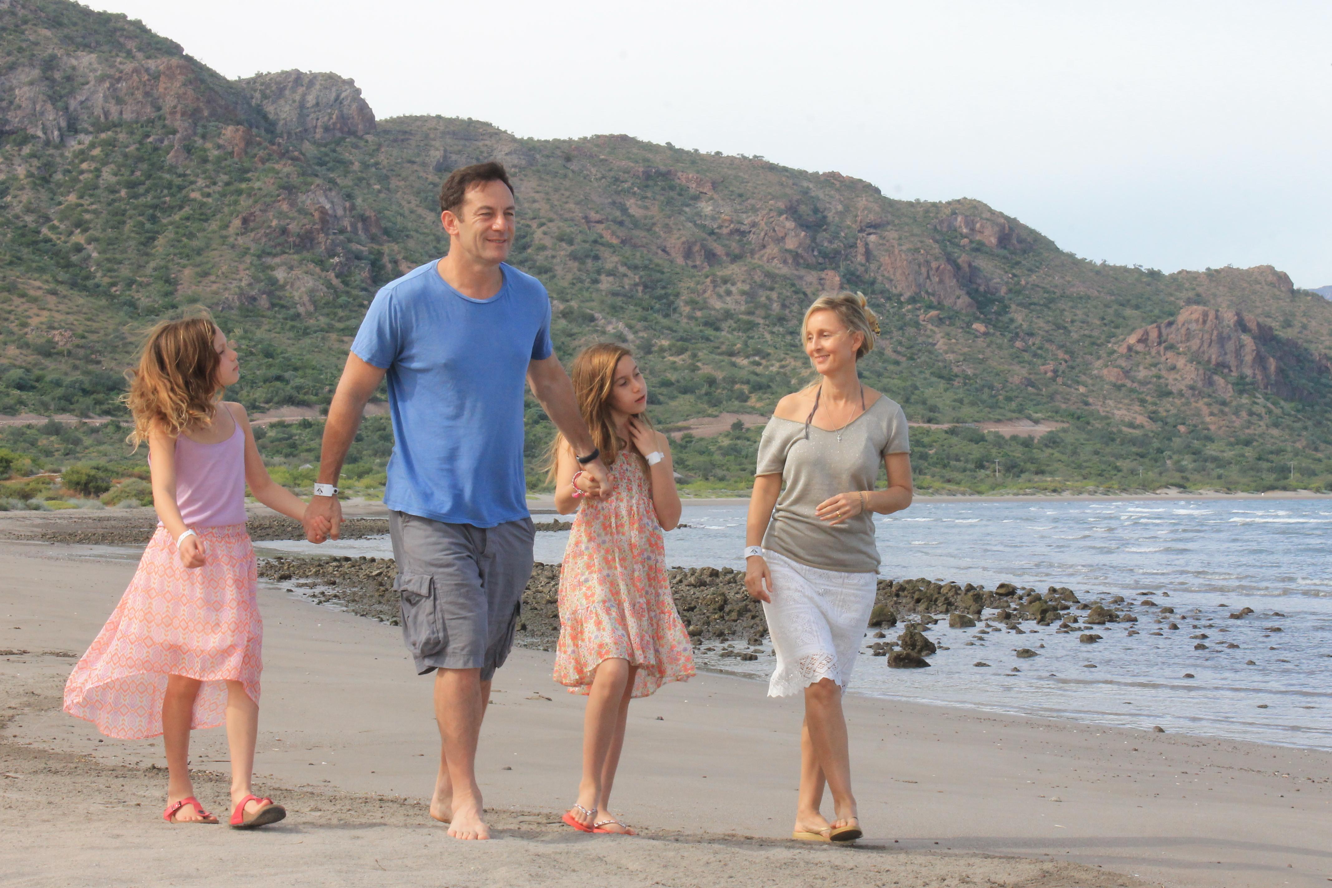 Jason Isaacs & Family