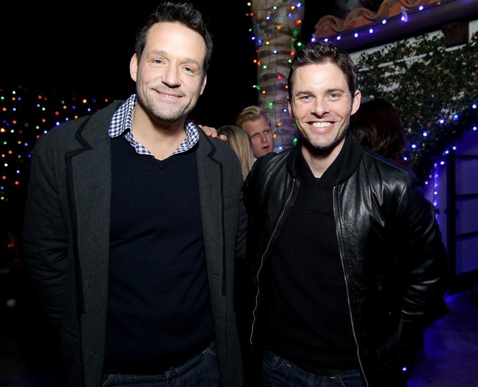 Josh Hopkins and James Marsden