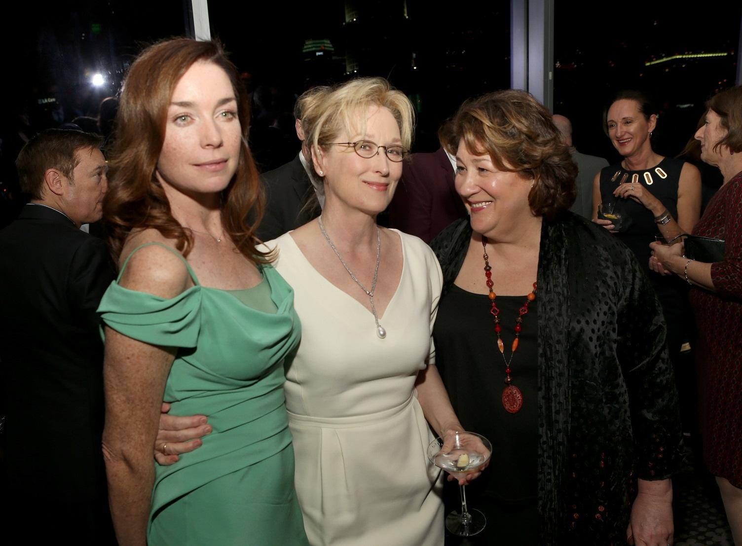 Julianne Nicholson, Meryl Streep & Margo Martindale