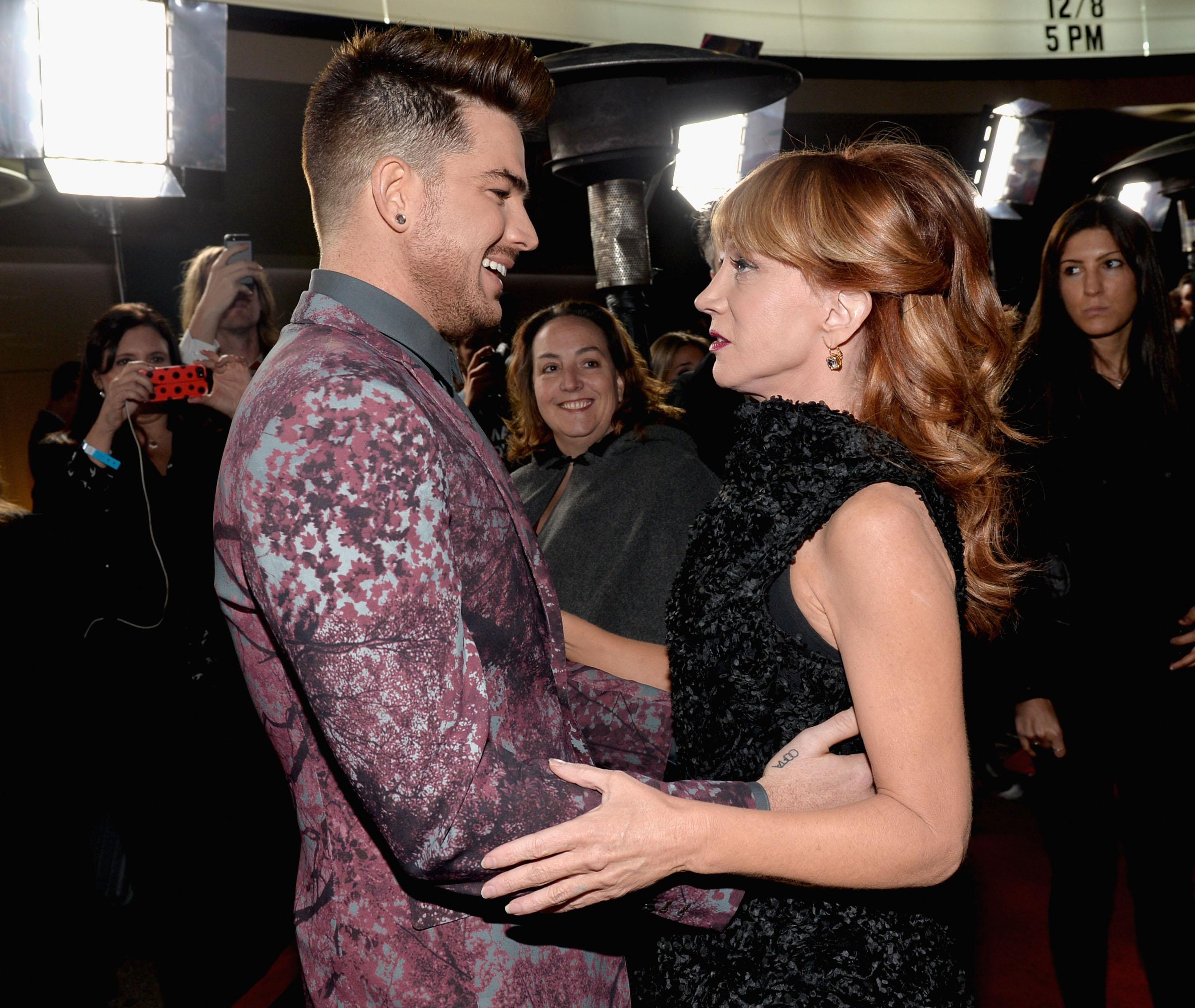 Adam Lambert & Kathy Griffin
