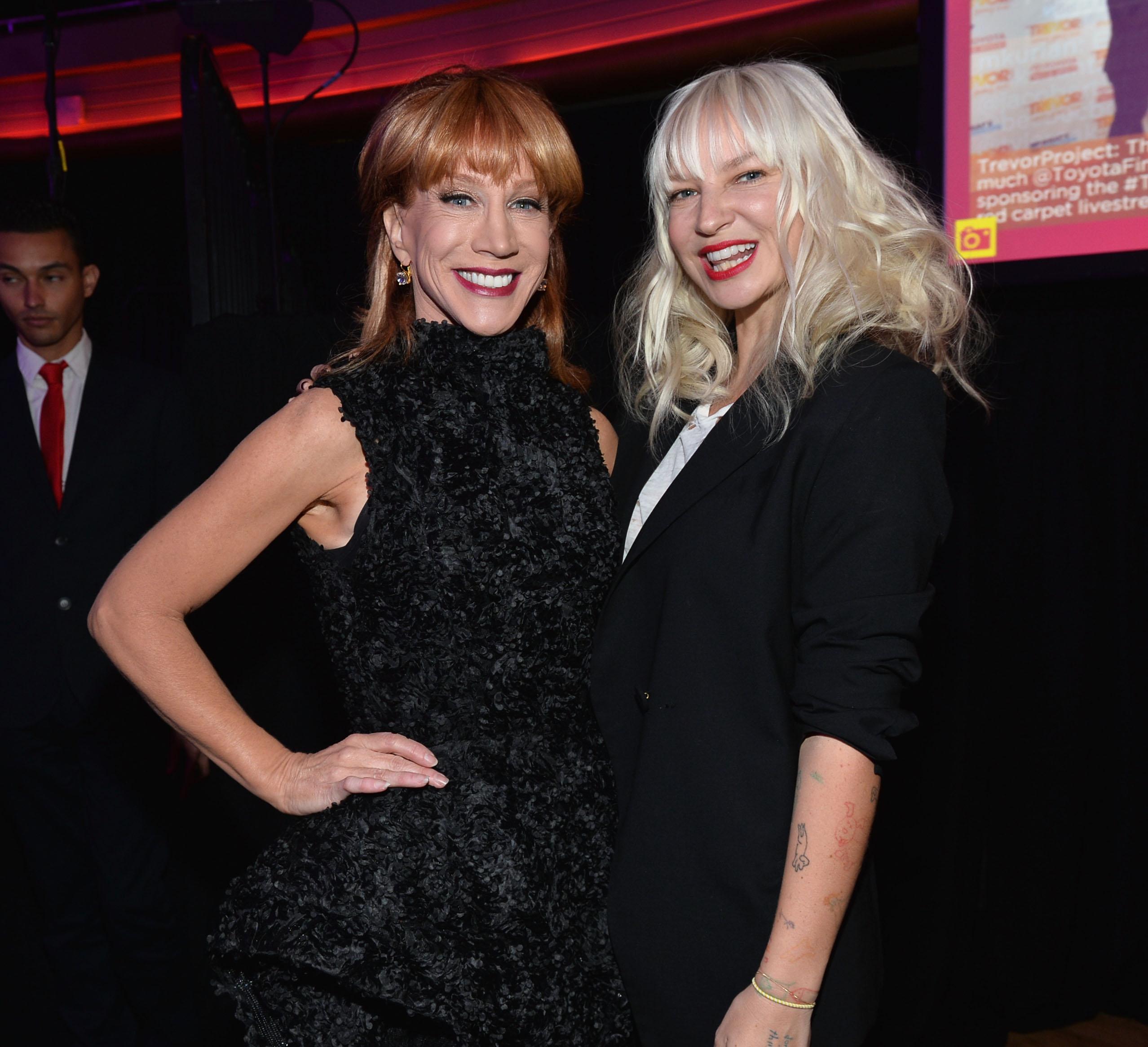 Kathy Griffin & Sia