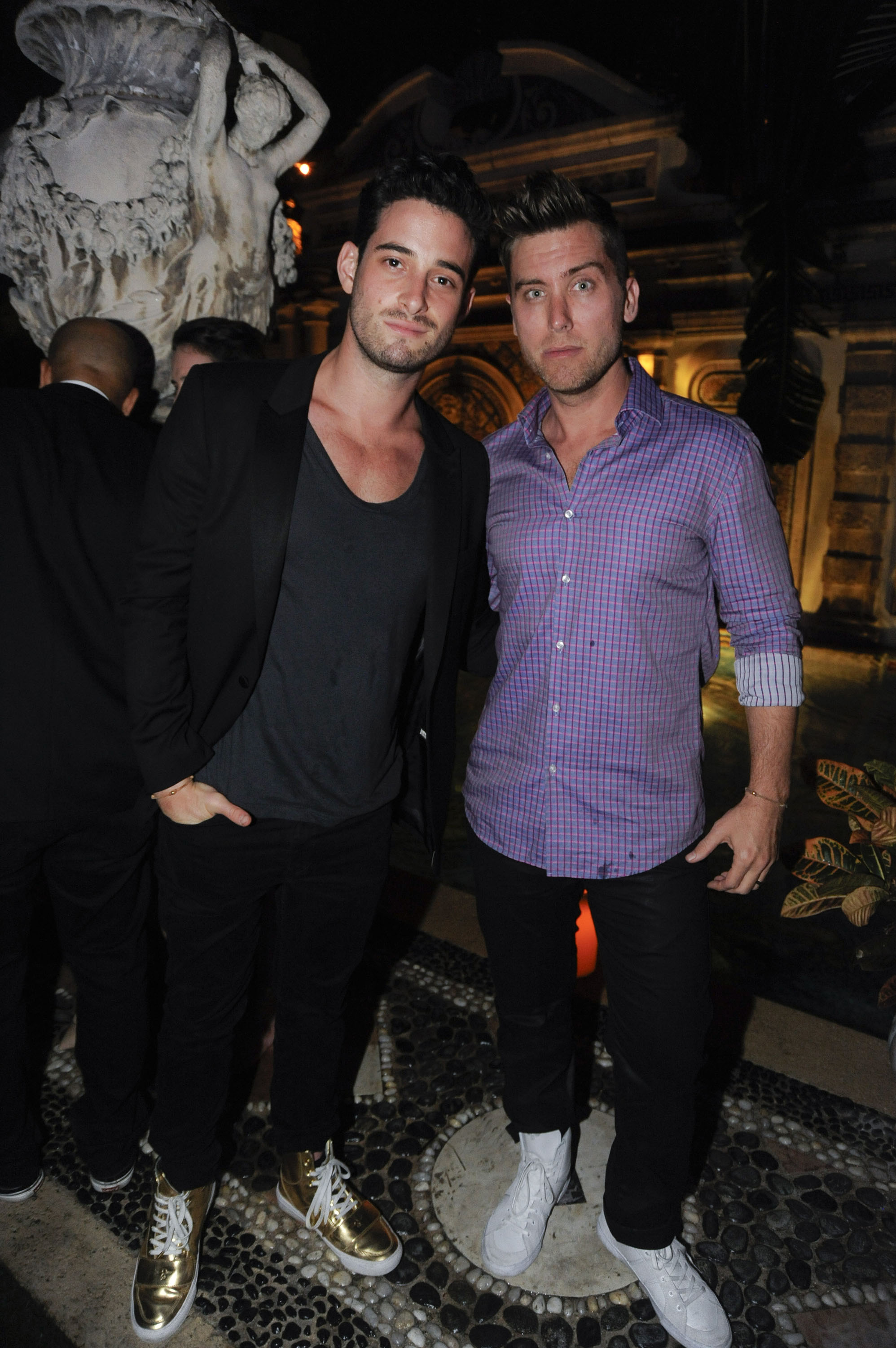 Michael Turchin & Lance Bass