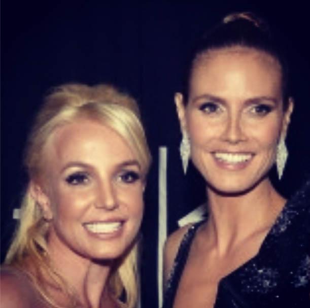 Britney Spears & Heidi Klum