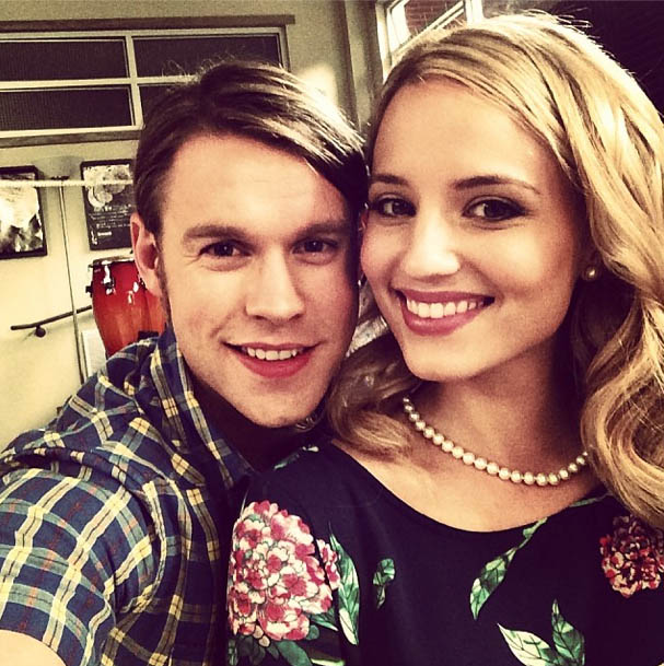 Chord Overstreet & Dianna Agron