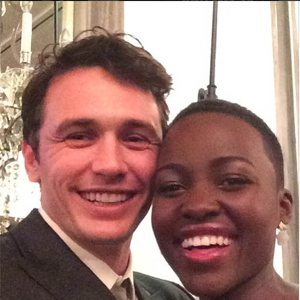James Franco & Lupita Nyong'o