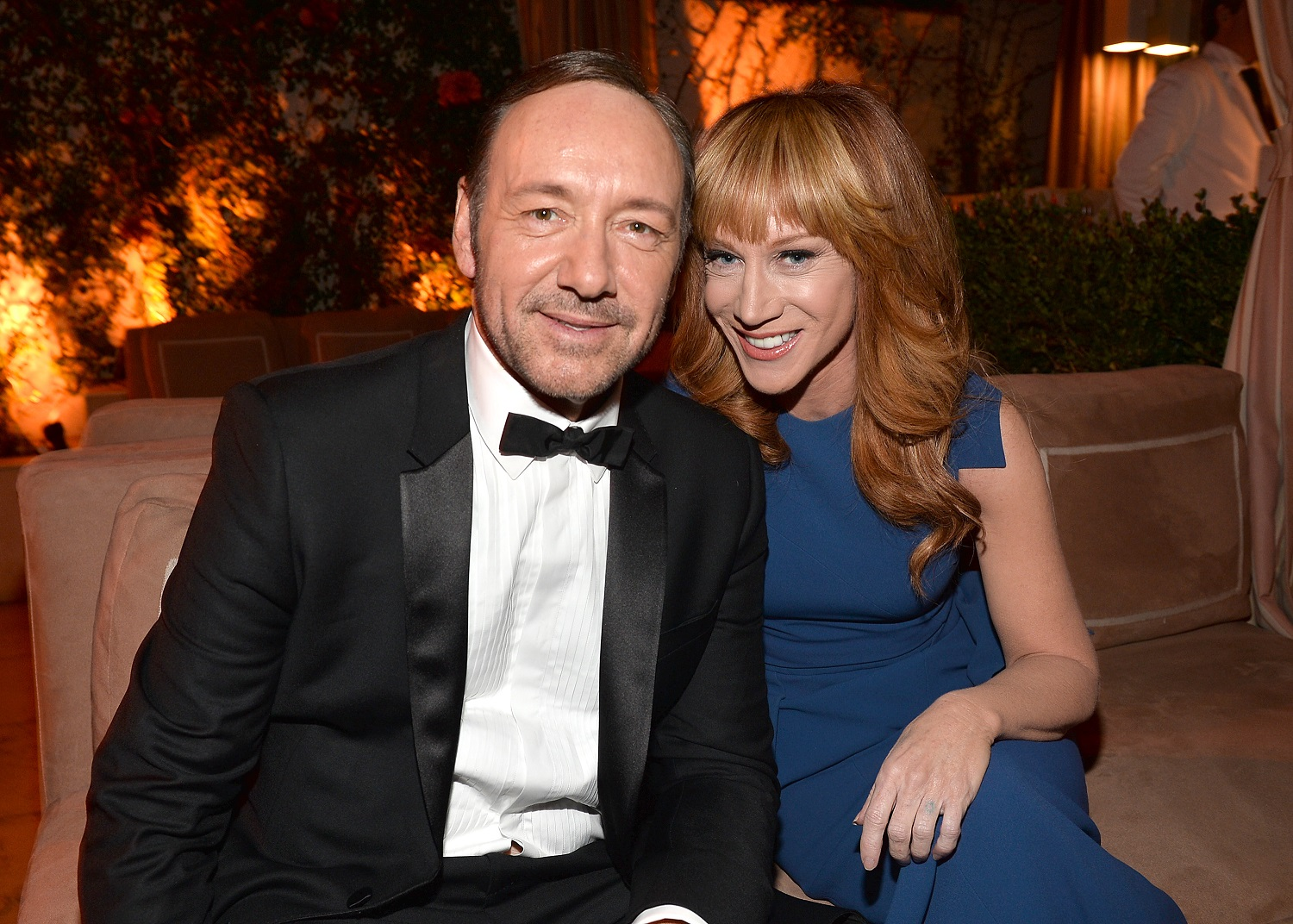 Kevin Spacey & Kathy Griffin