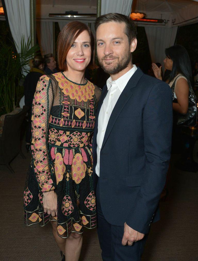 Kristen Wiig & Tobey Maguire