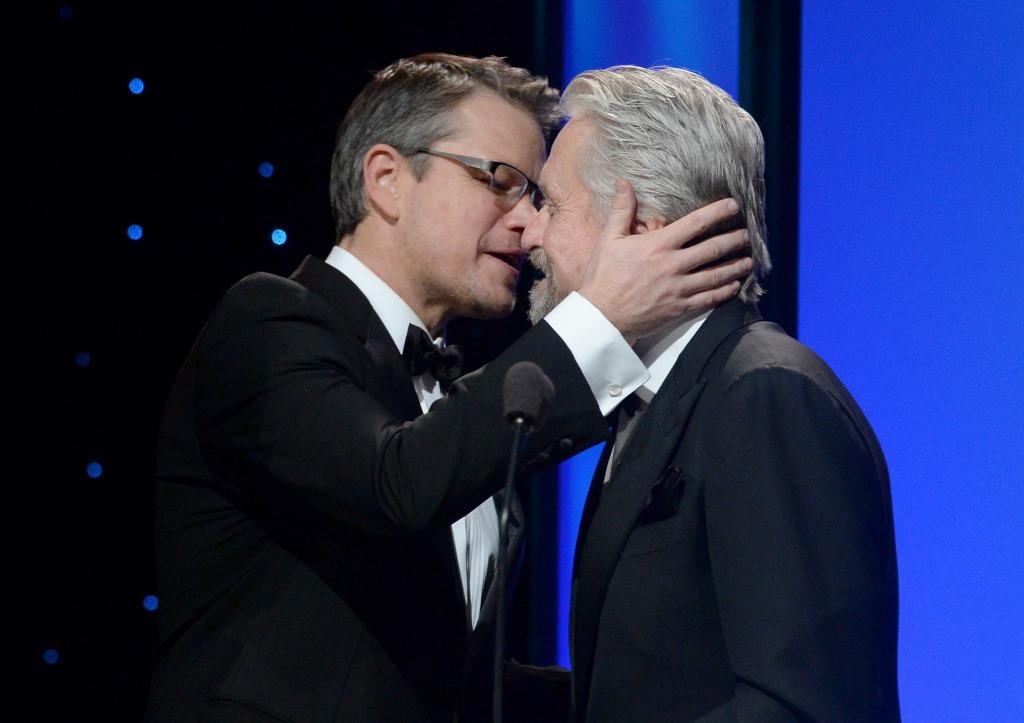 Matt Damon & Michael Douglas