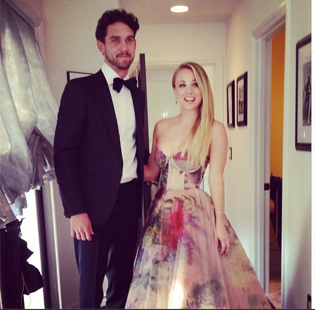 Ryan Sweeting & Kaley Cuoco