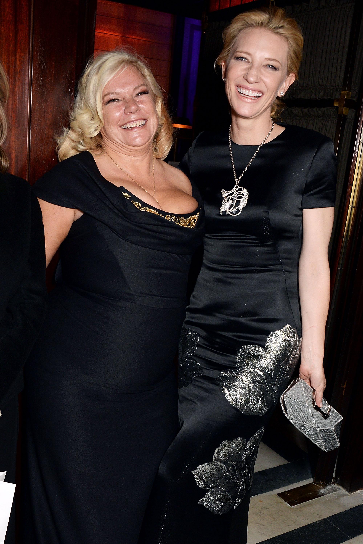Alison Owen & Cate Blanchett