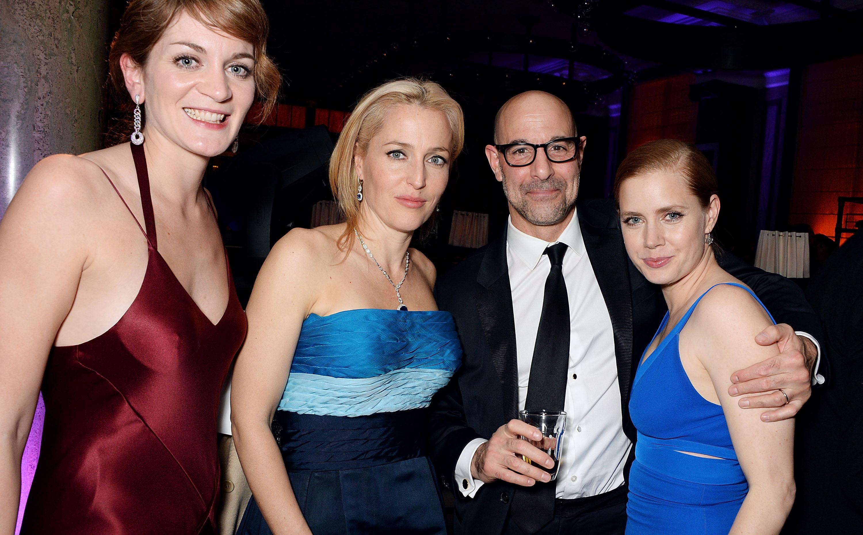 Felicity Blunt, Gillian Anderson, Stanley Tucci & Amy Adams