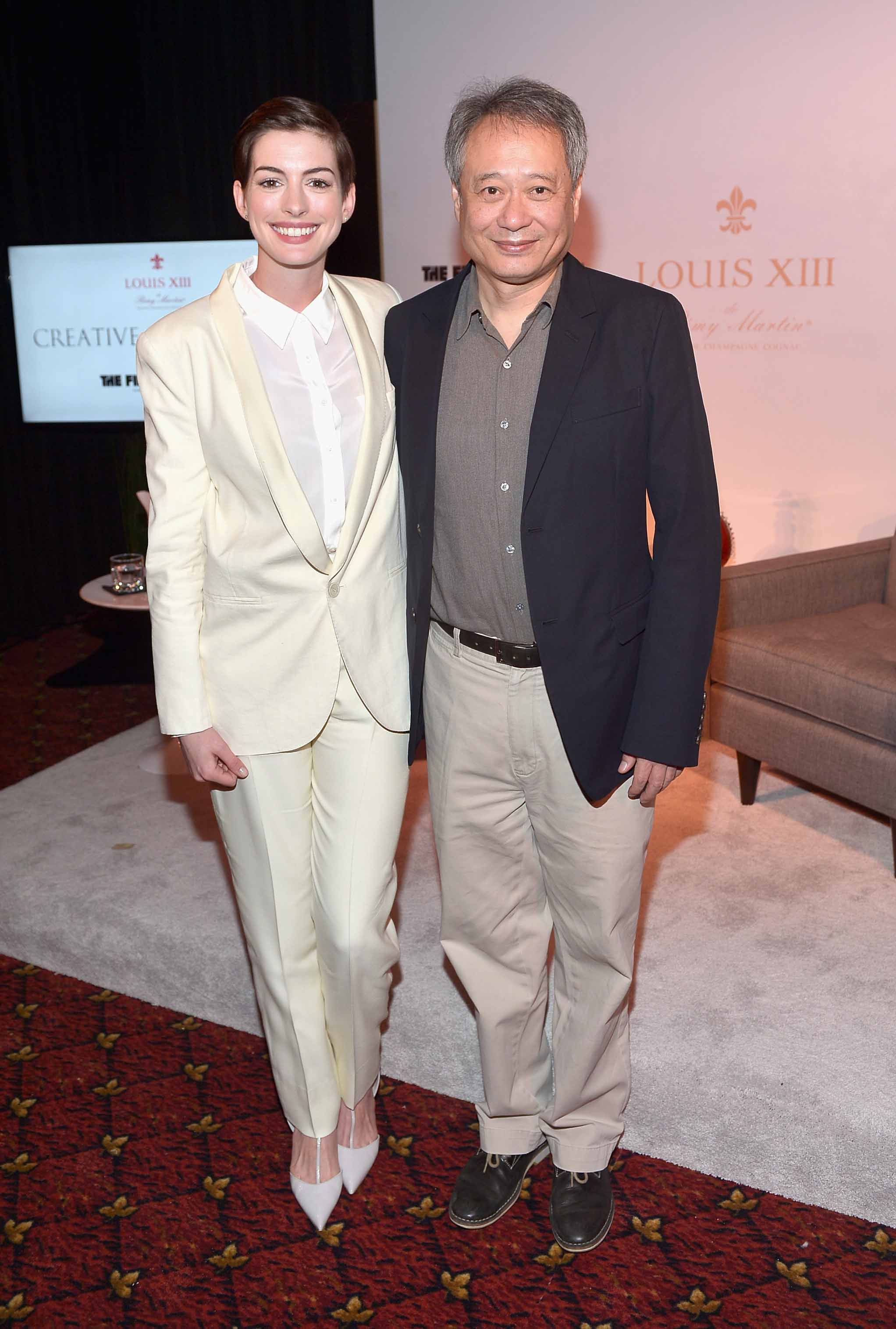 Anne Hathaway & Ang Lee