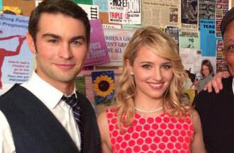 Chace Crawford & Dianna Agron