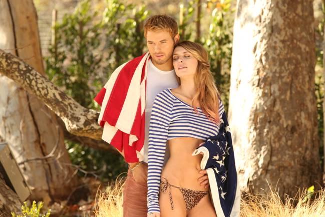 Kellan Lutz & Brittany Lucas