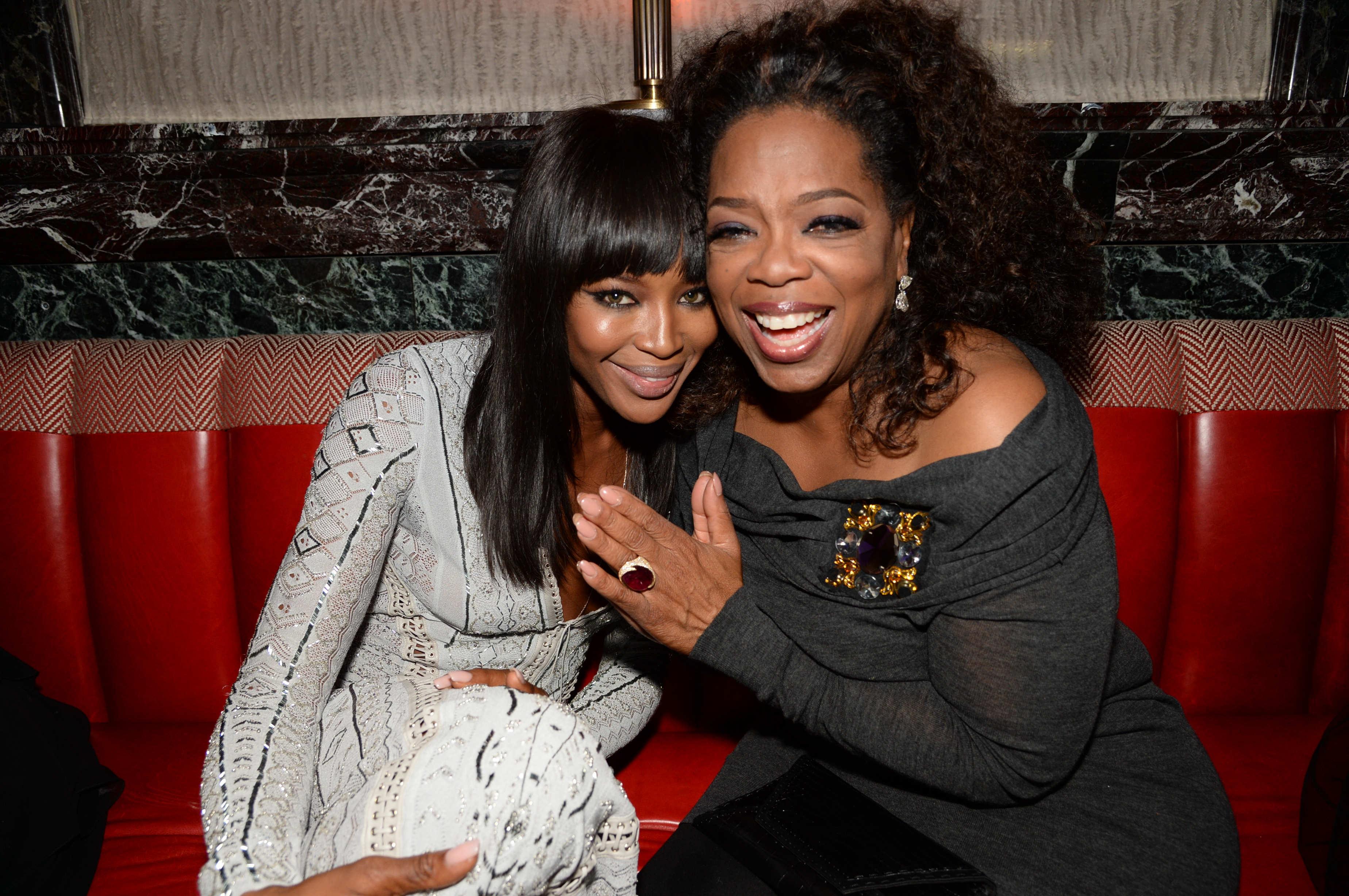Naomi Campbell & Oprah Winfrey