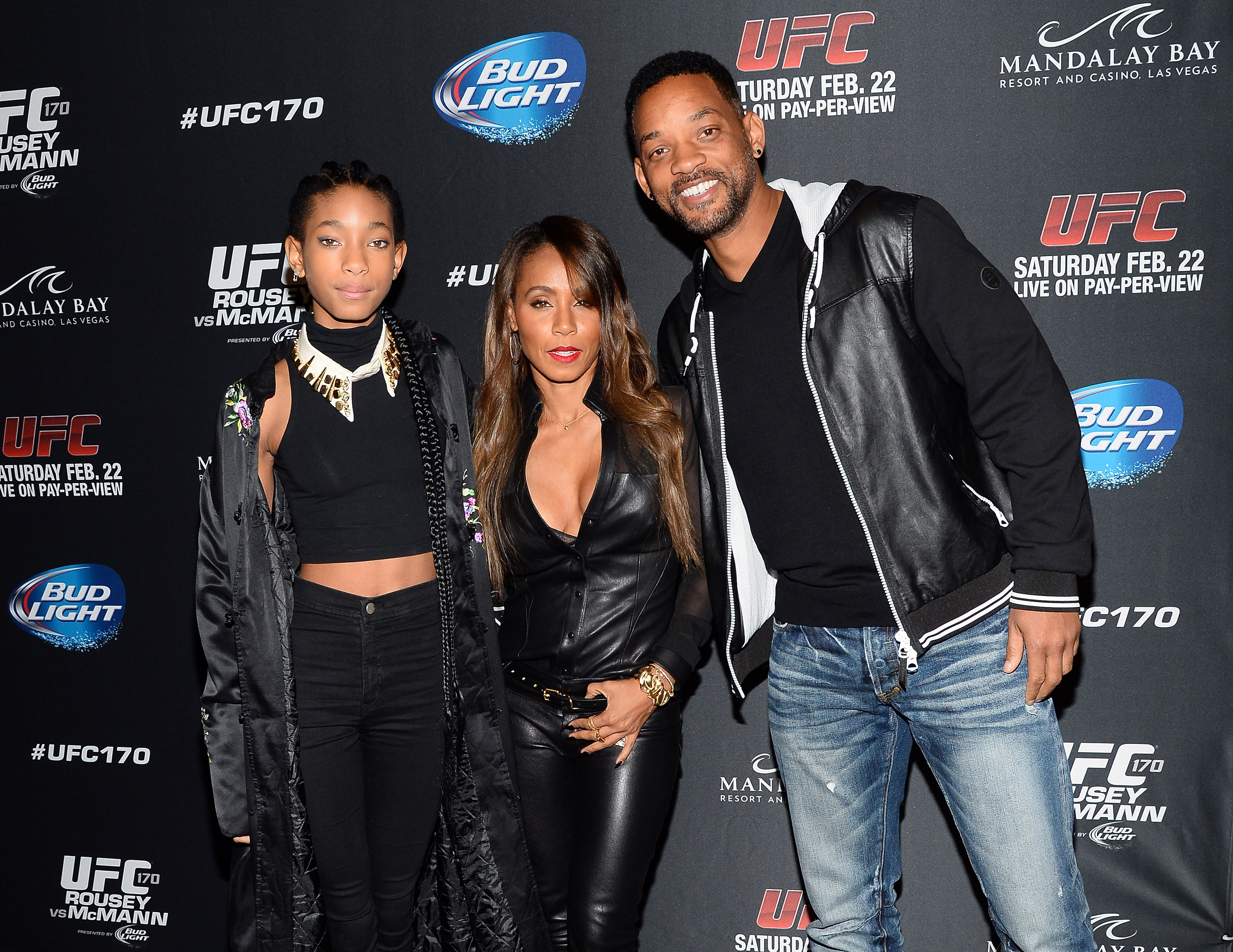 Will Smith, Jada Pinkett Smith & Willow Smith